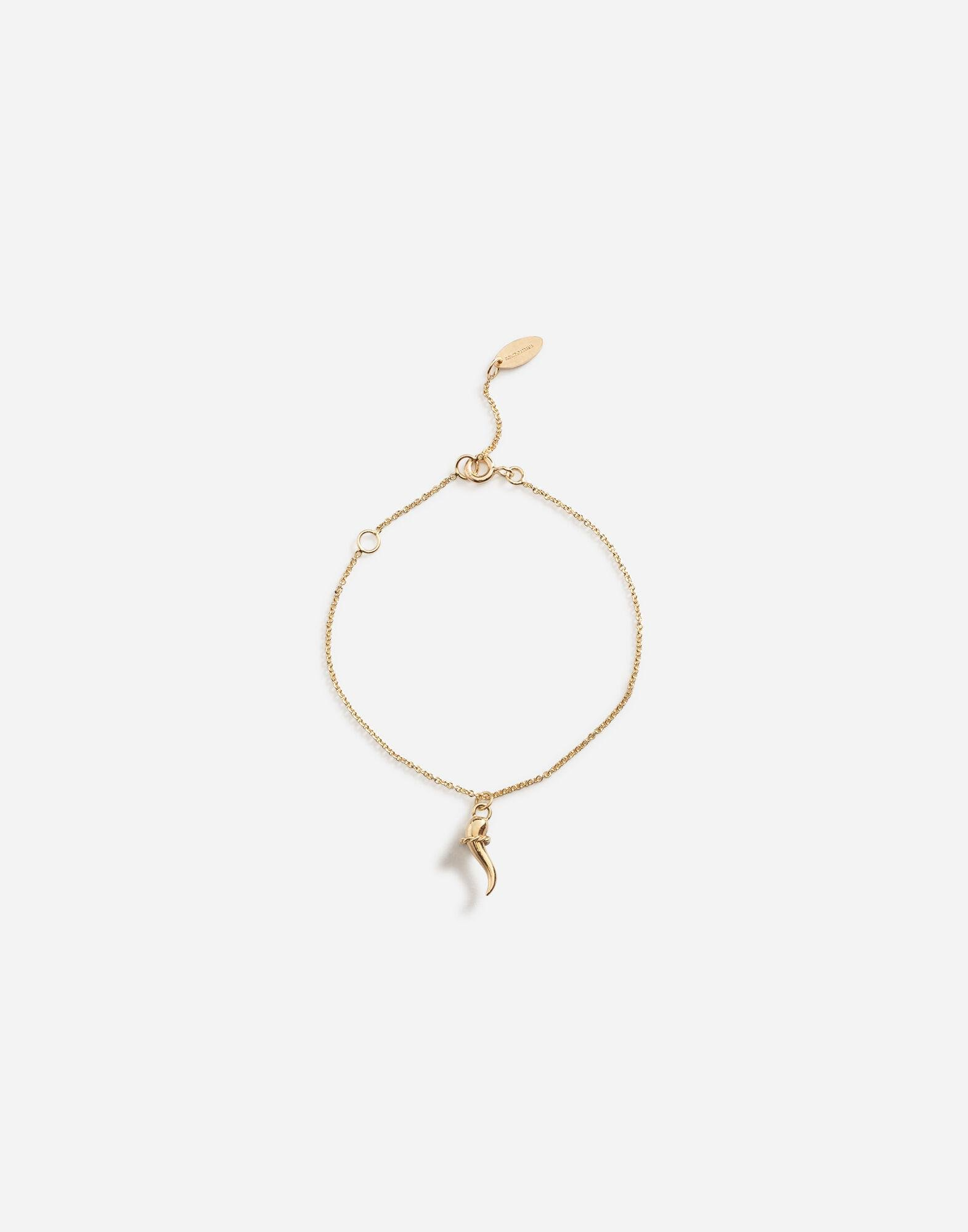 Bracelet with good luck charm