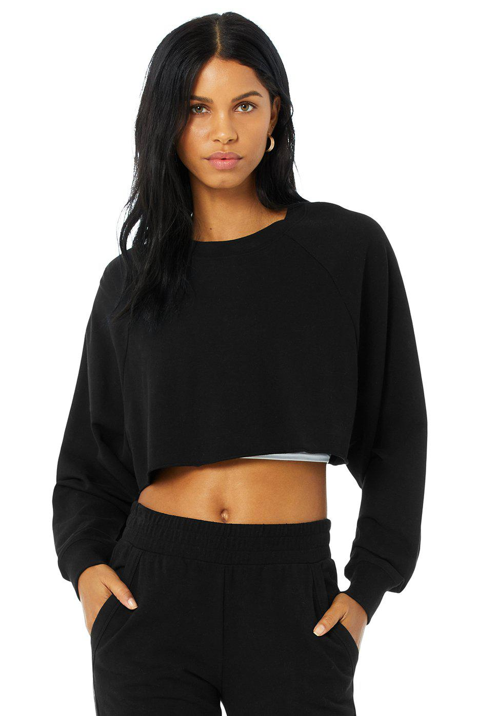 Double Take Pullover - Black
