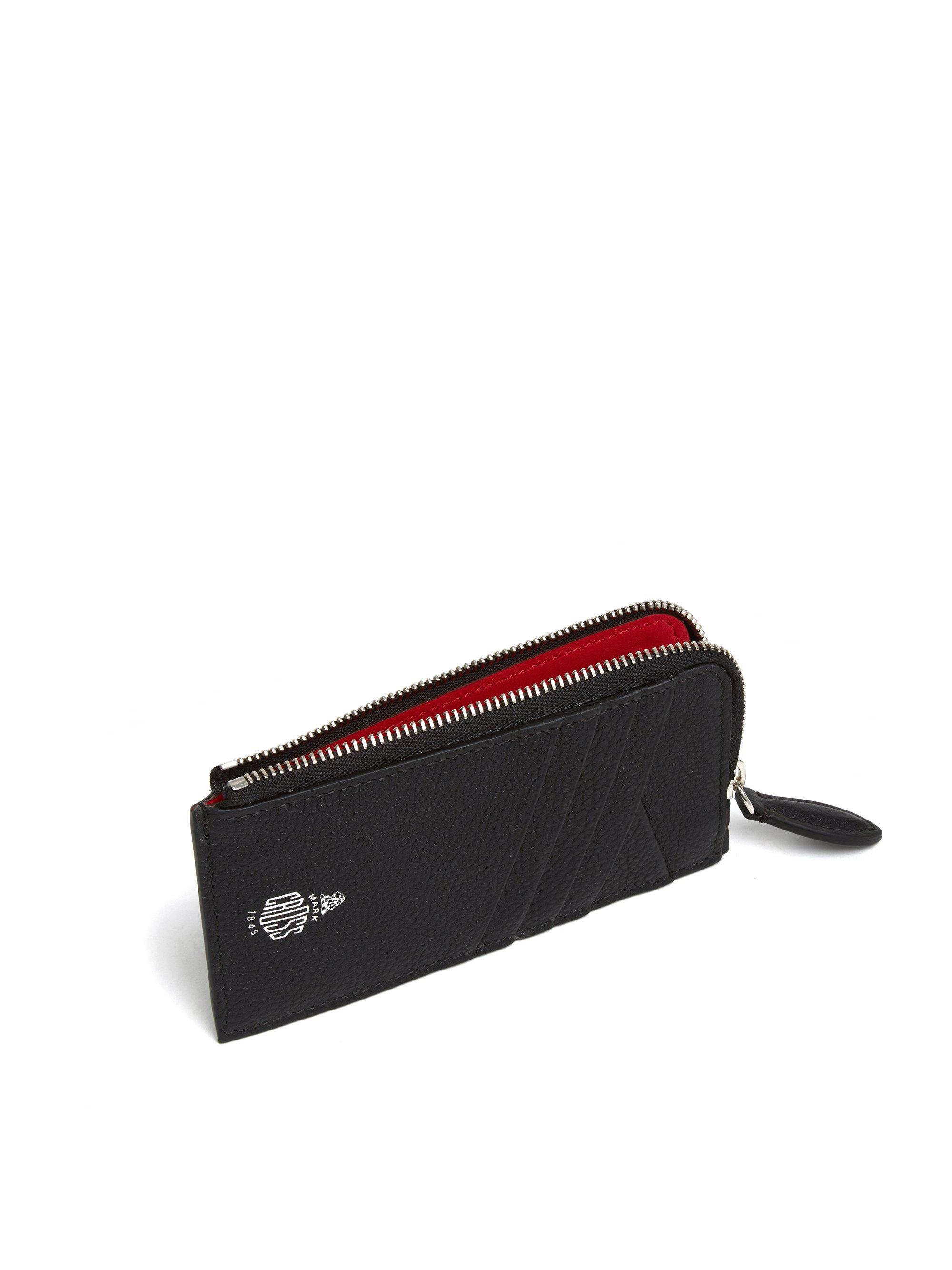 Leather Zip Card Case 3
