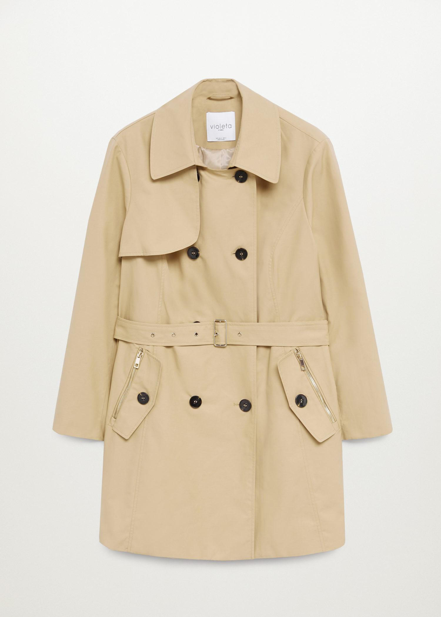 Classic belted trench 6