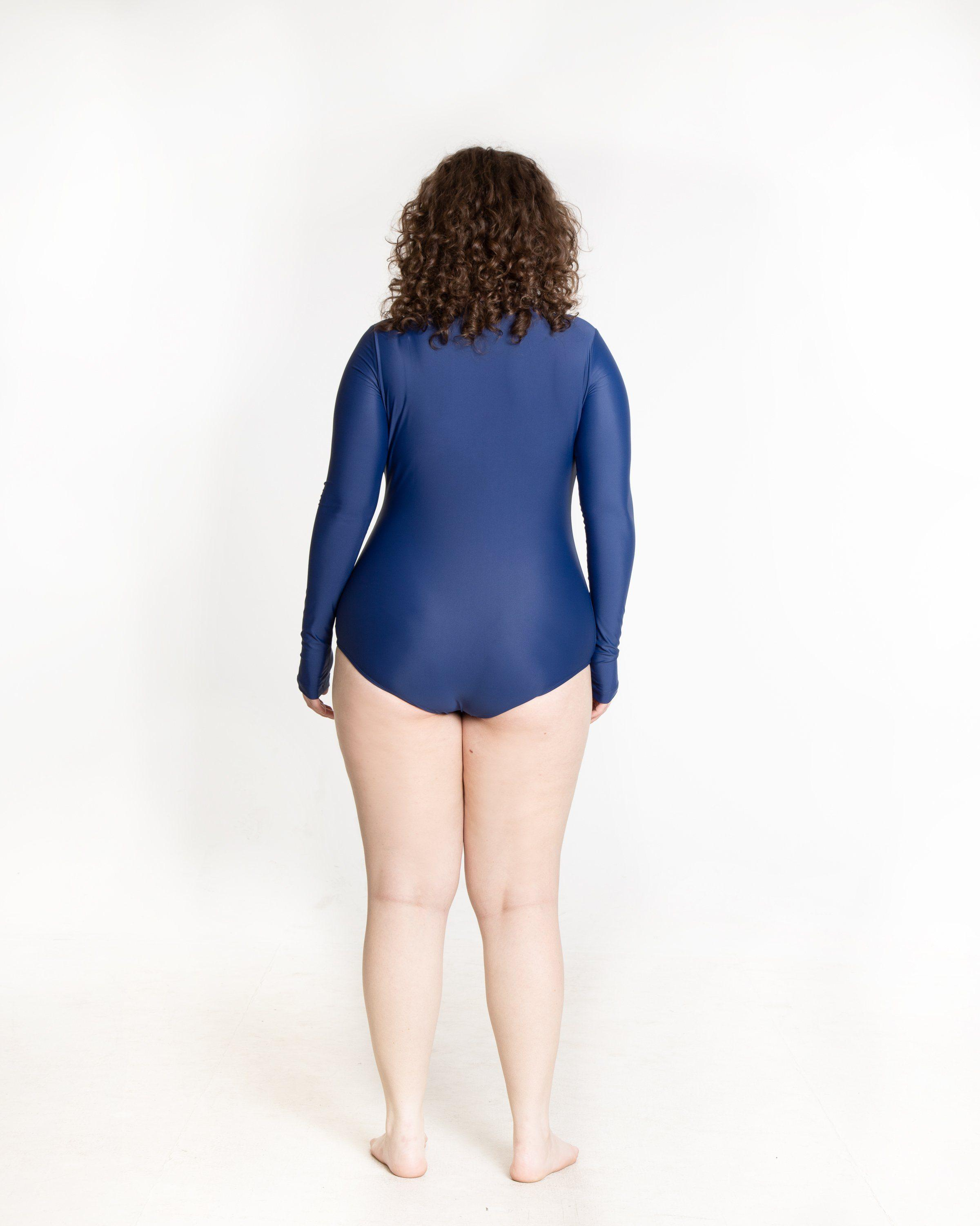 Long-Sleeved Front Zip Swimsuit 5