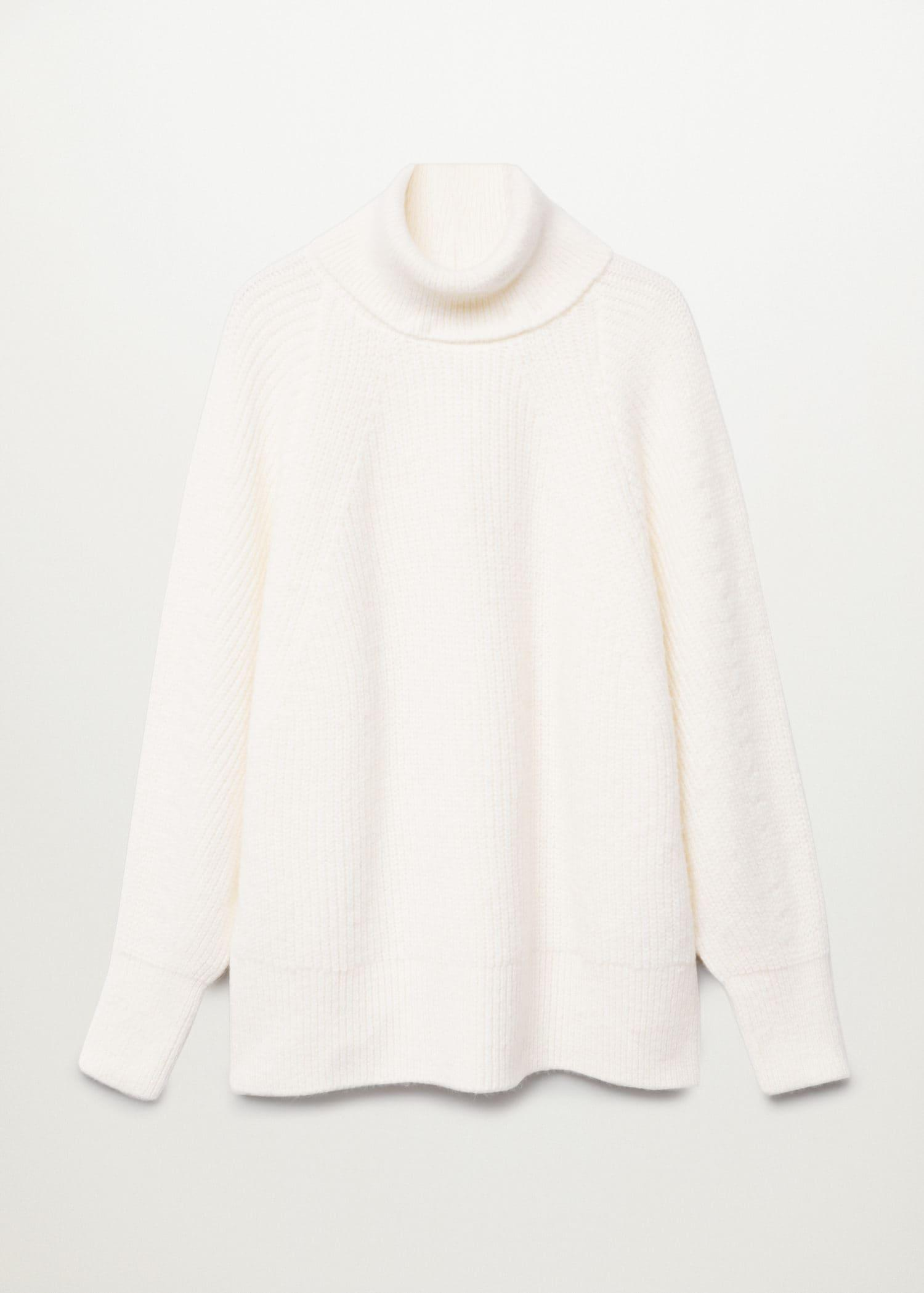 Turtleneck knitted sweater 6