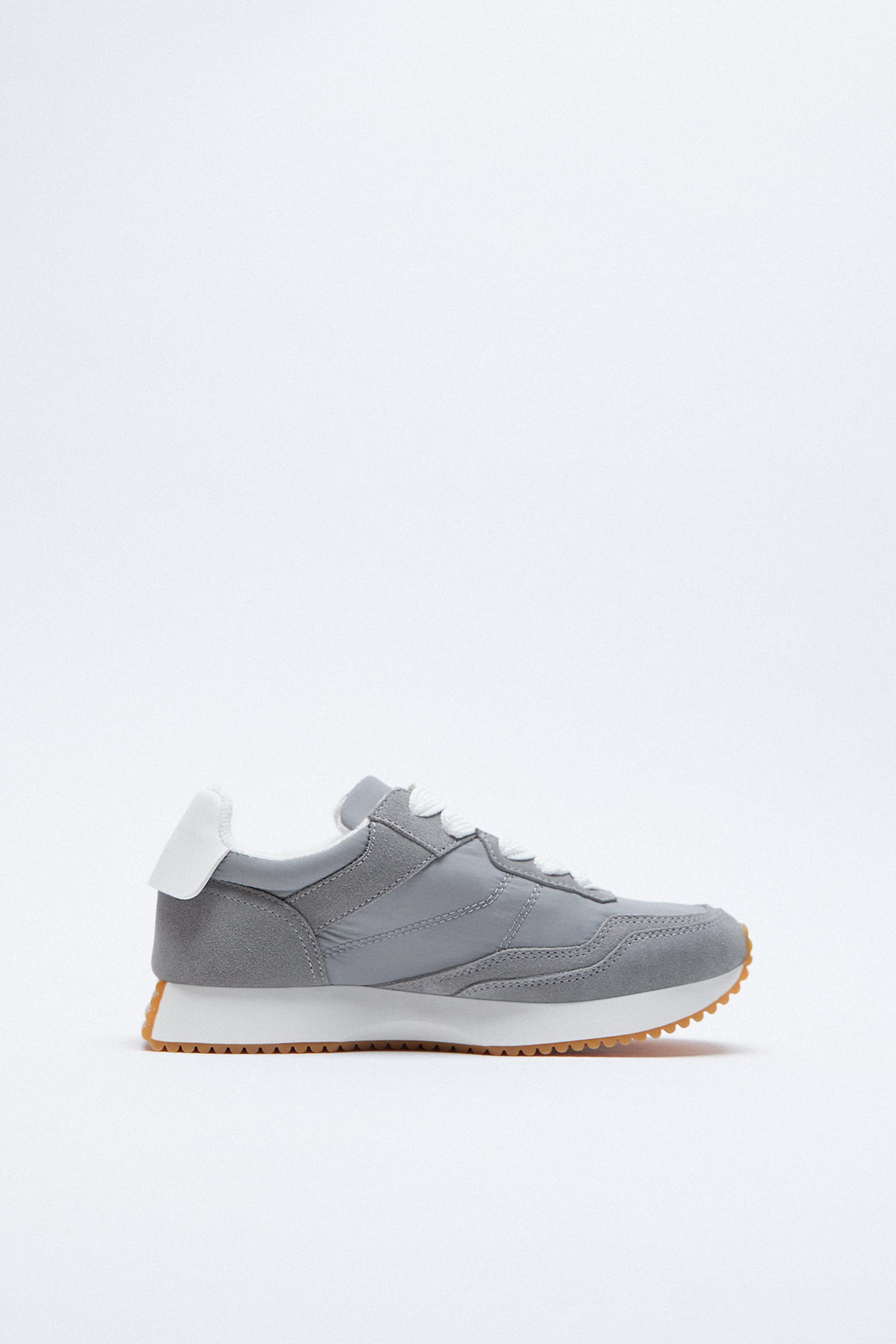 CONTRASTING SOFT SNEAKERS