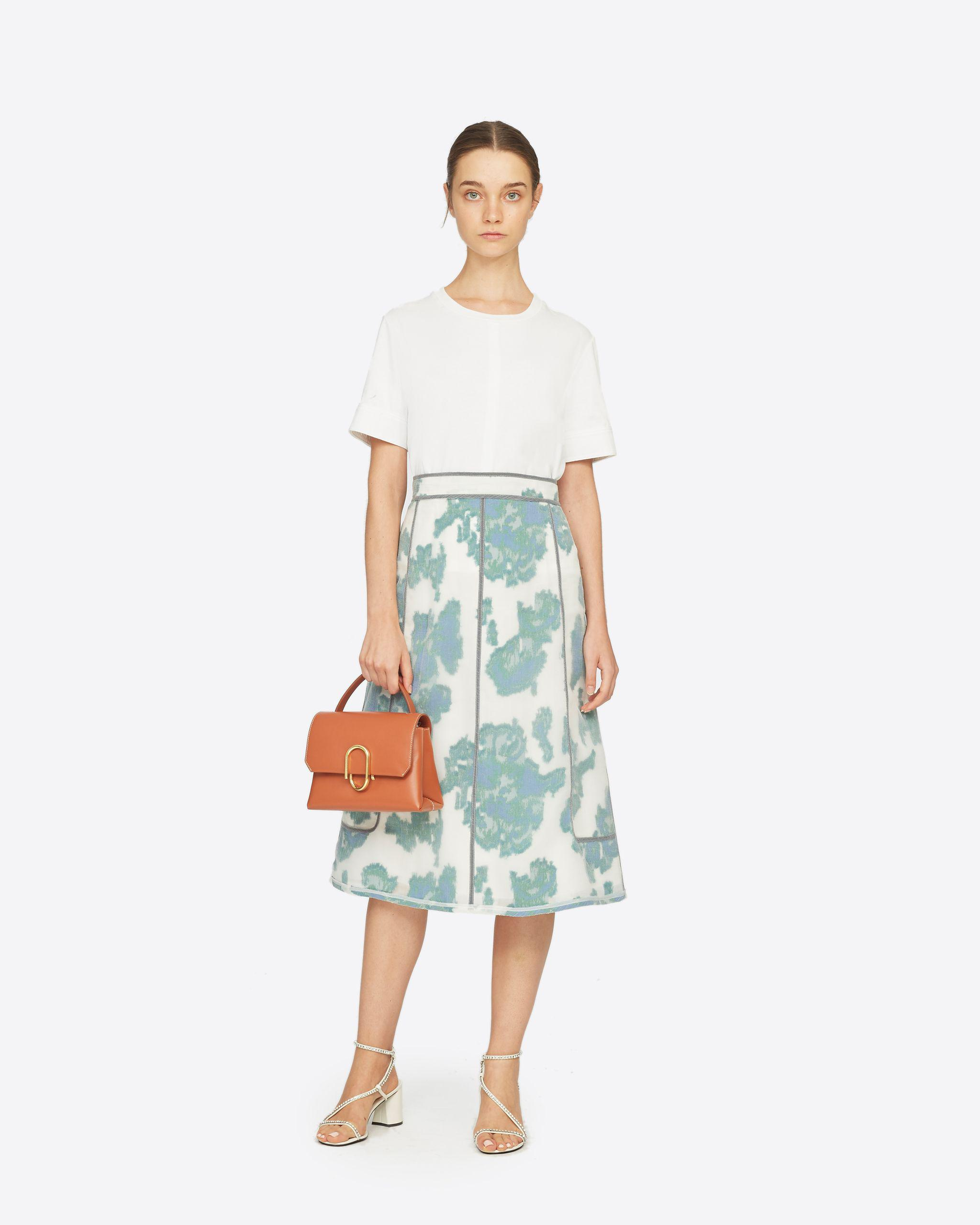 Fil Coupe Abstract Daisy Skirt