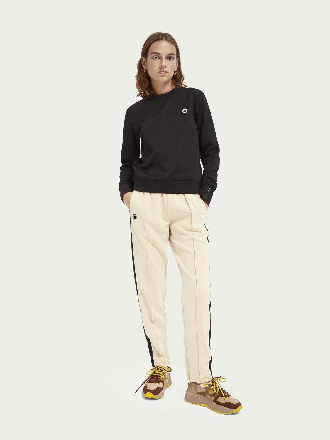 Woven sporty trousers 1