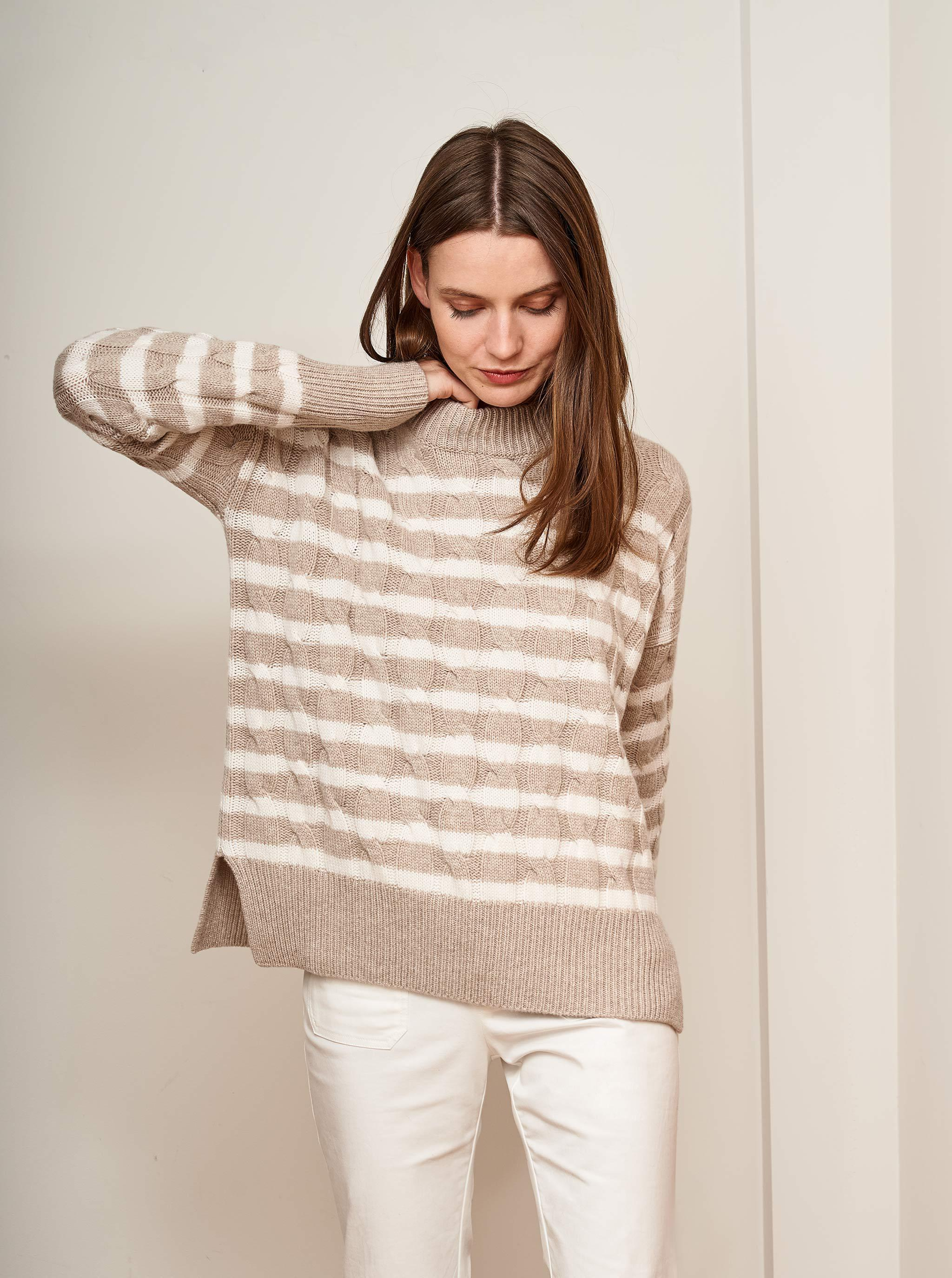Cable Marin Sweater 1