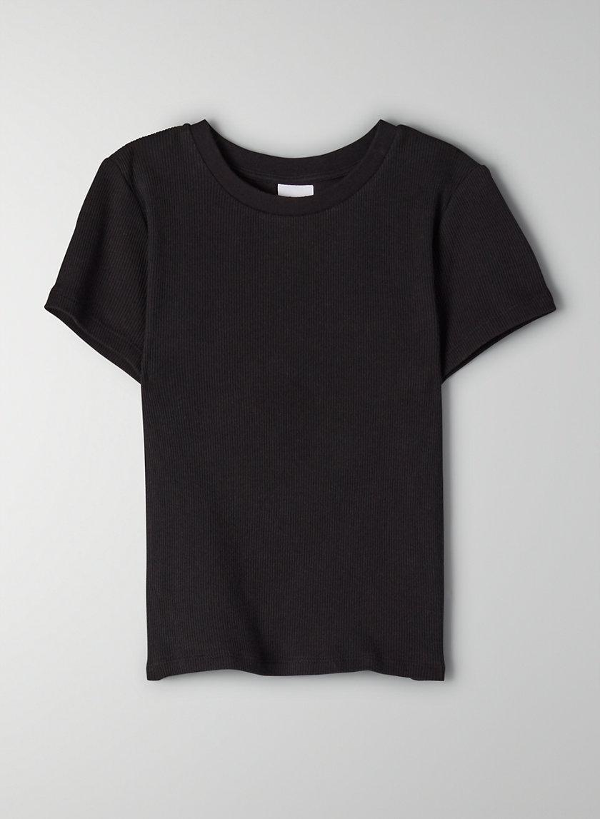 Ribbed Cropped T-Shirt 3