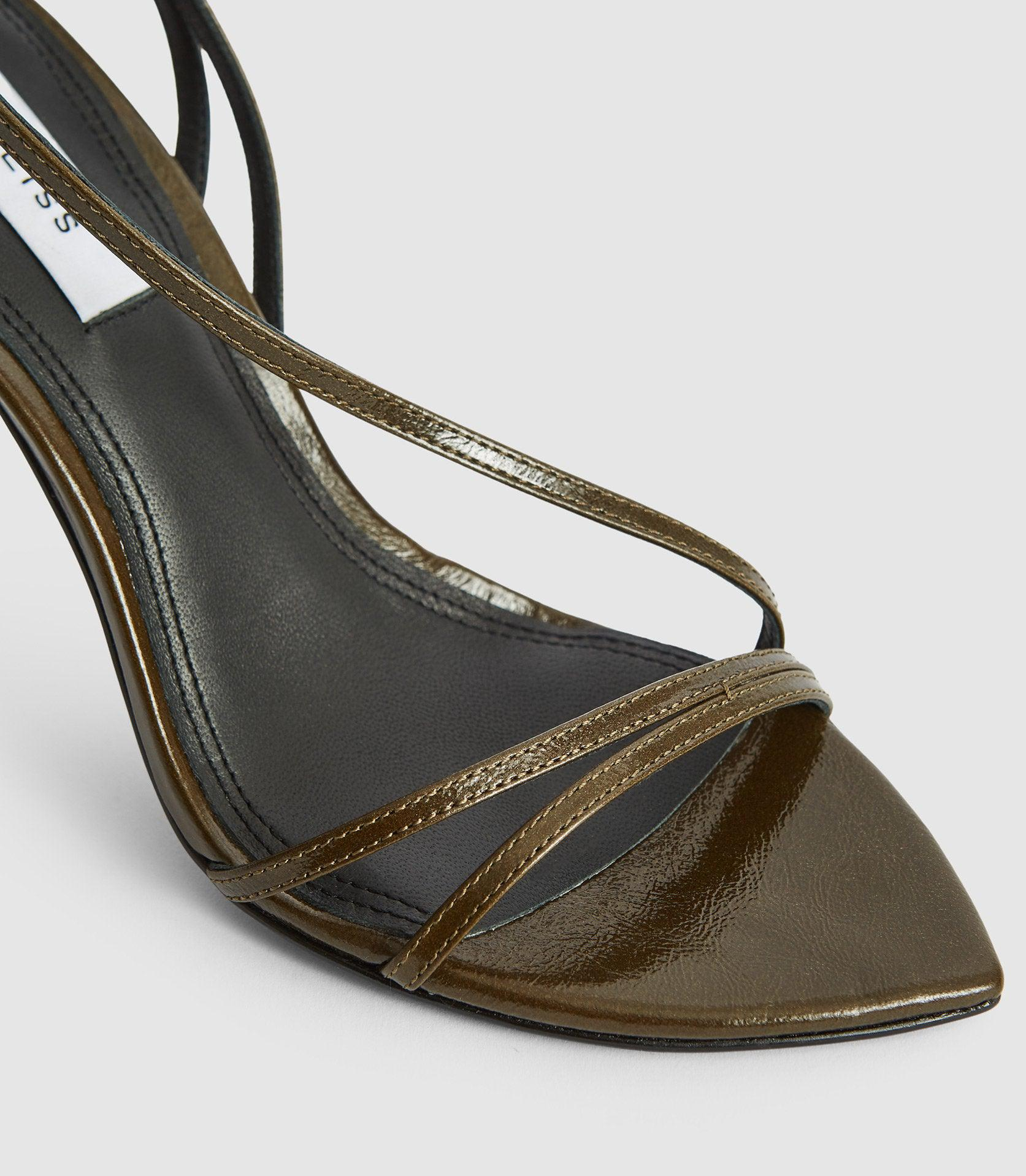 ADELA - LEATHER STRAPPY SANDALS 2
