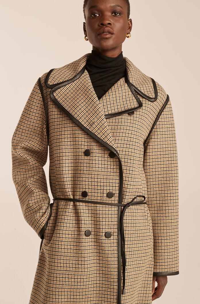 DOUBLE FACED WOOL TRENCH COAT 3