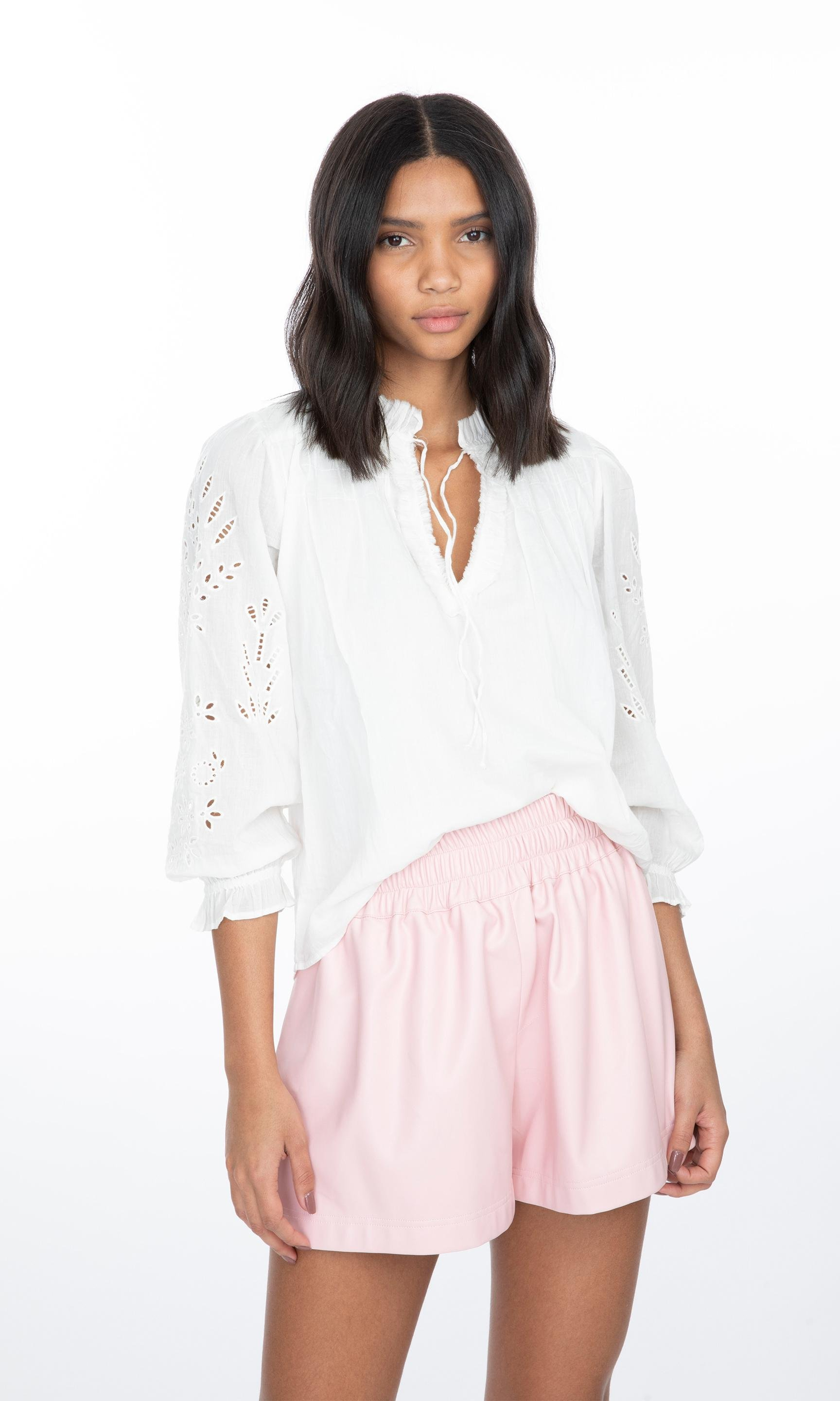 Camila Embroidered Blouse 1