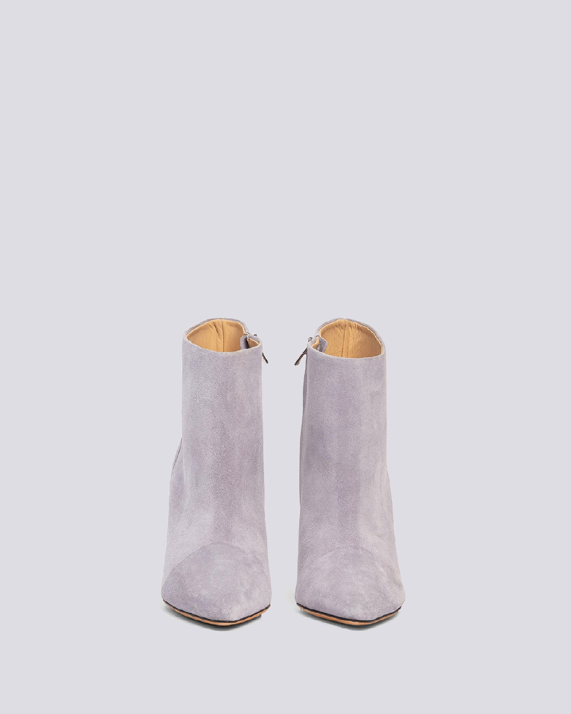 IMANOL POINTED TOE ANKLE SUEDE BOOTS 2