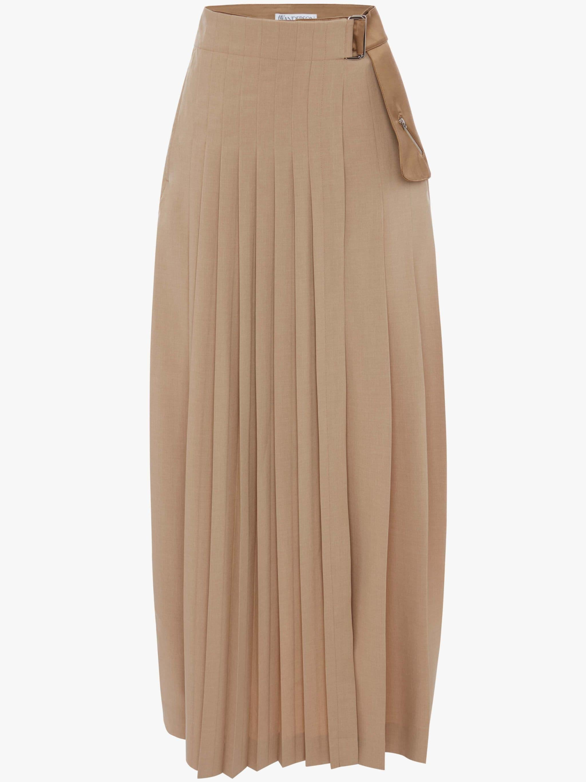PLEATED SKIRT TROUSERS 3