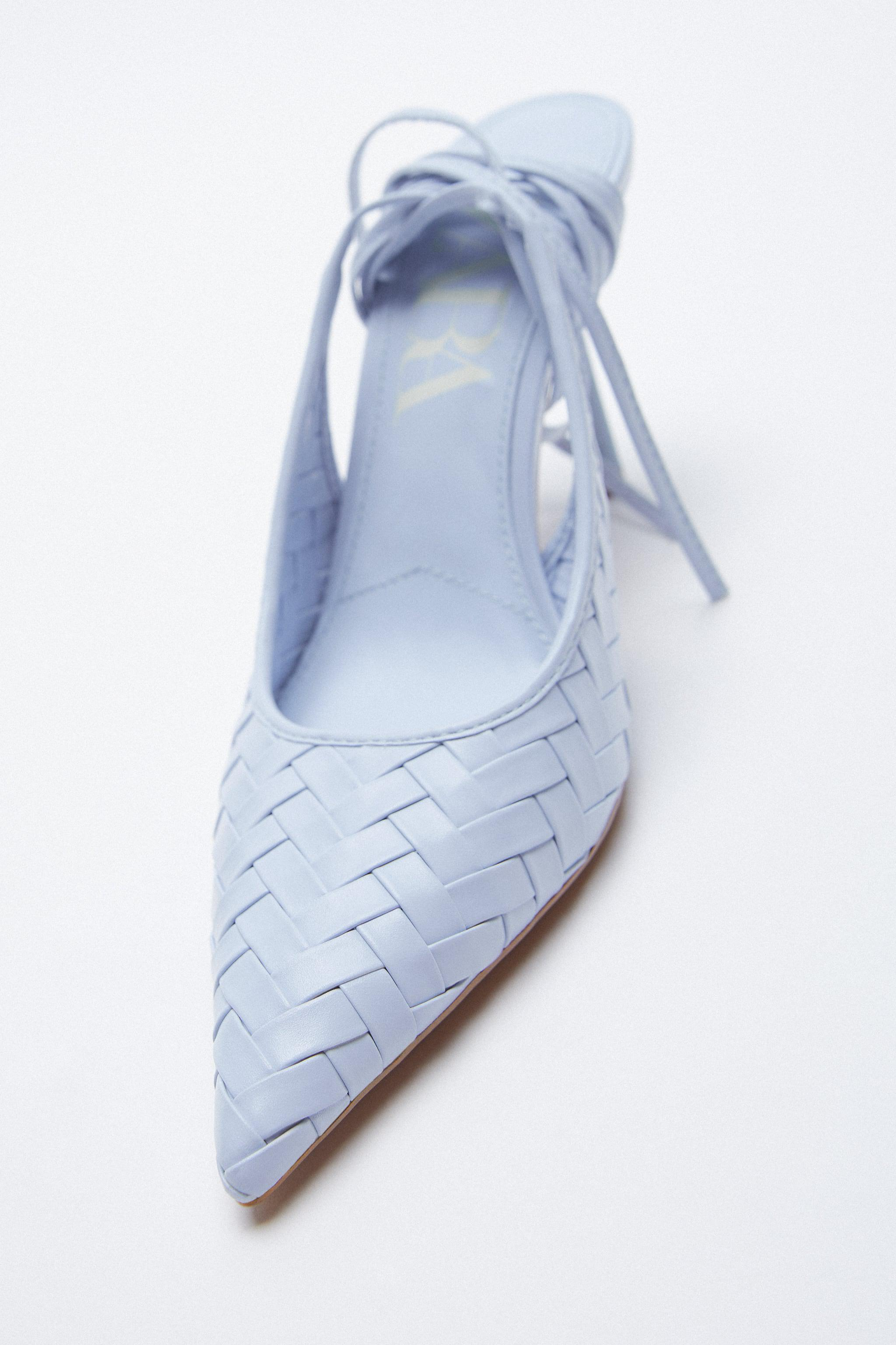 WOVEN HEELS WITH ANKLE STRAP 4