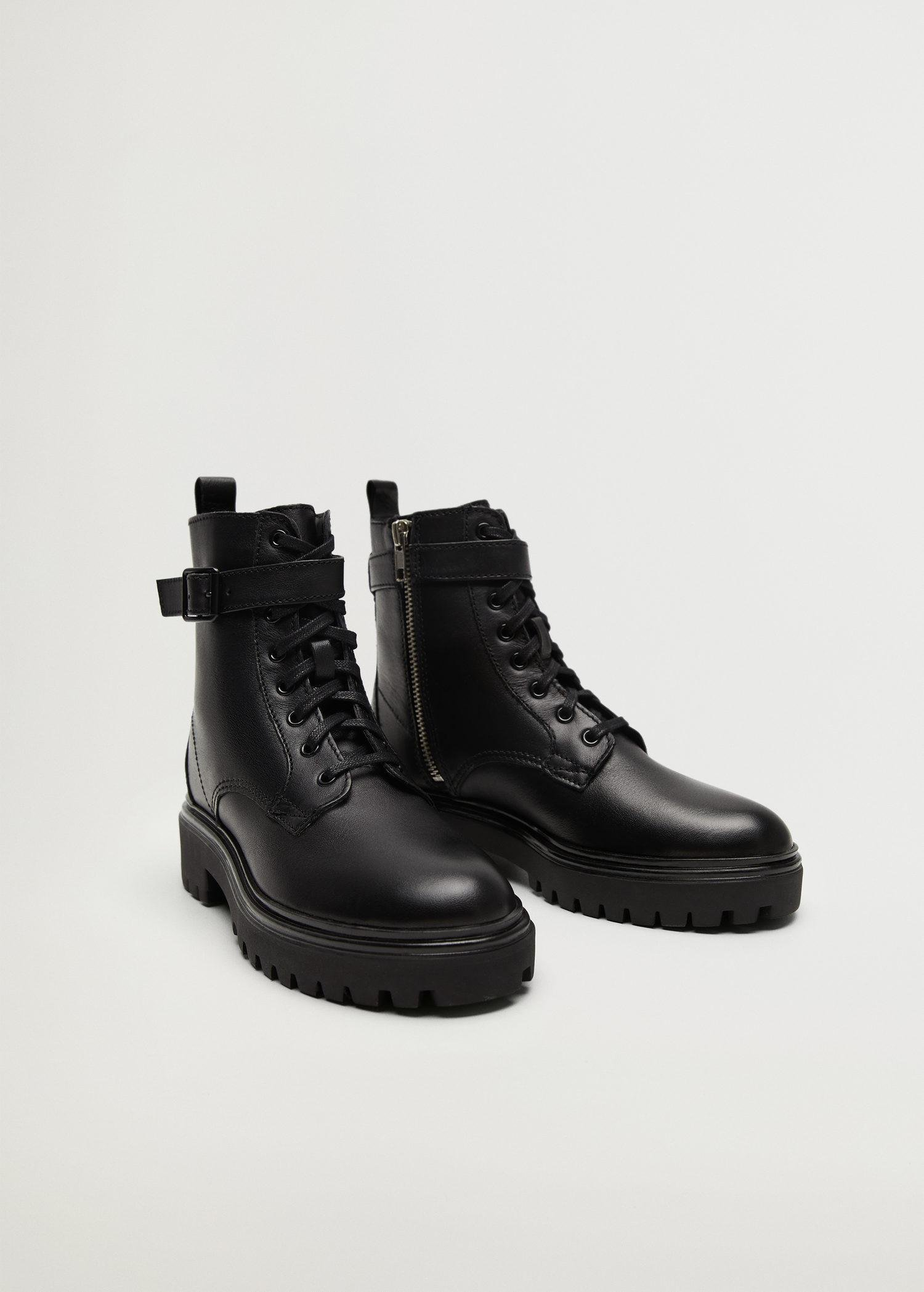 Buckle ankle boots 1