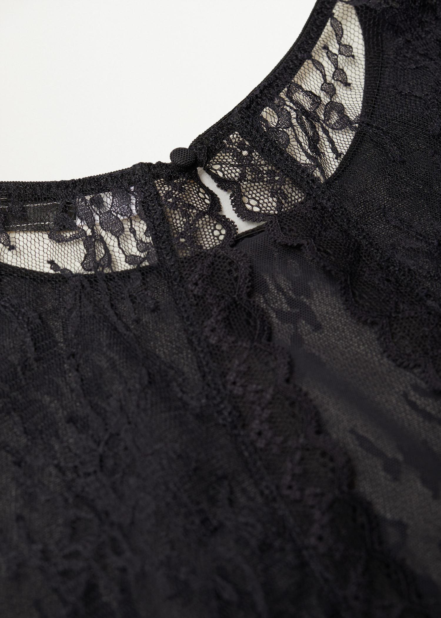 Short-sleeved lace body 7