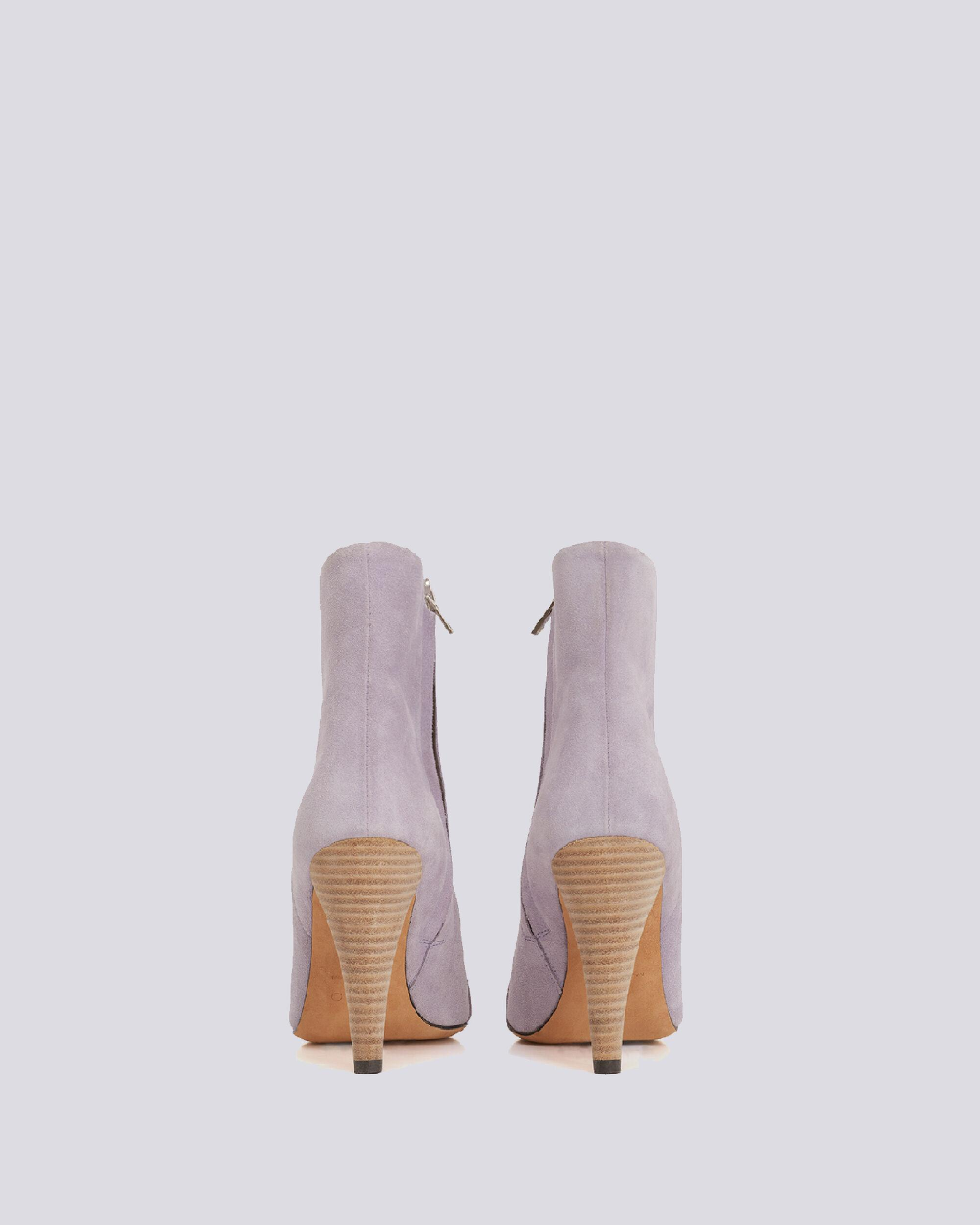 IMANOL POINTED TOE ANKLE SUEDE BOOTS 3