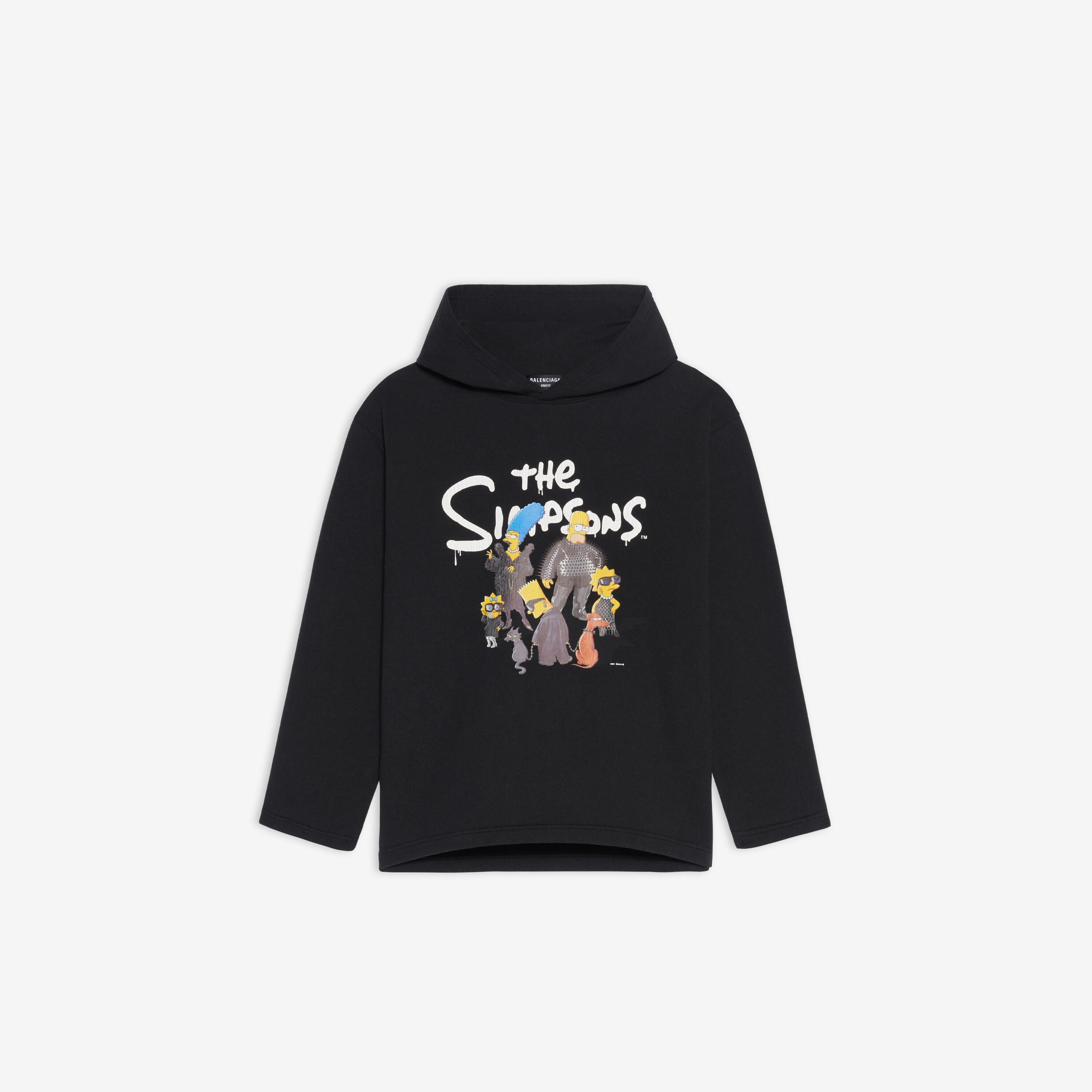The Simpsons TM & © 20th Television Cropped Hoodie