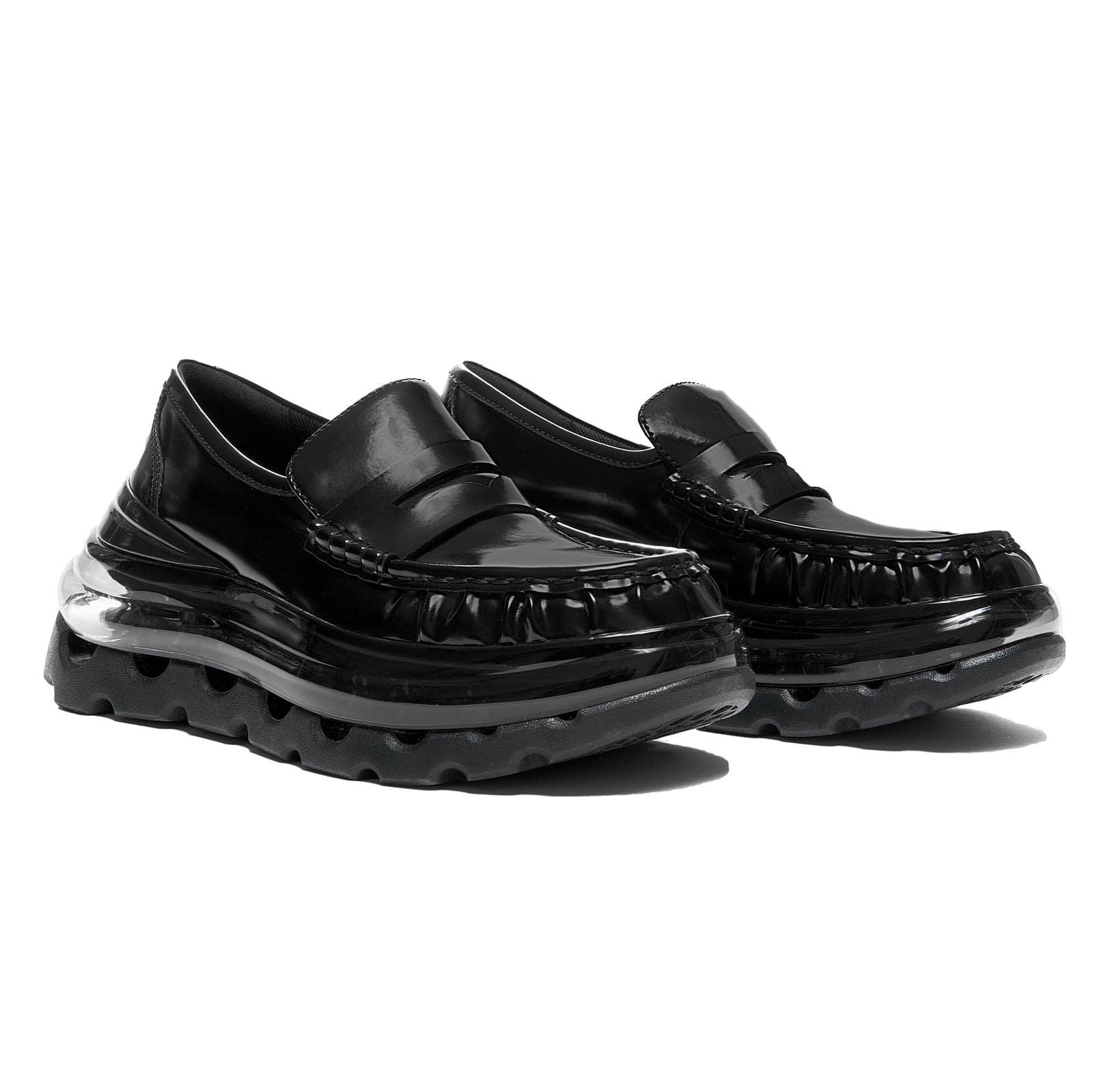 LOAF'AIR BLACK Classic Hybrid Sneaker Loafers