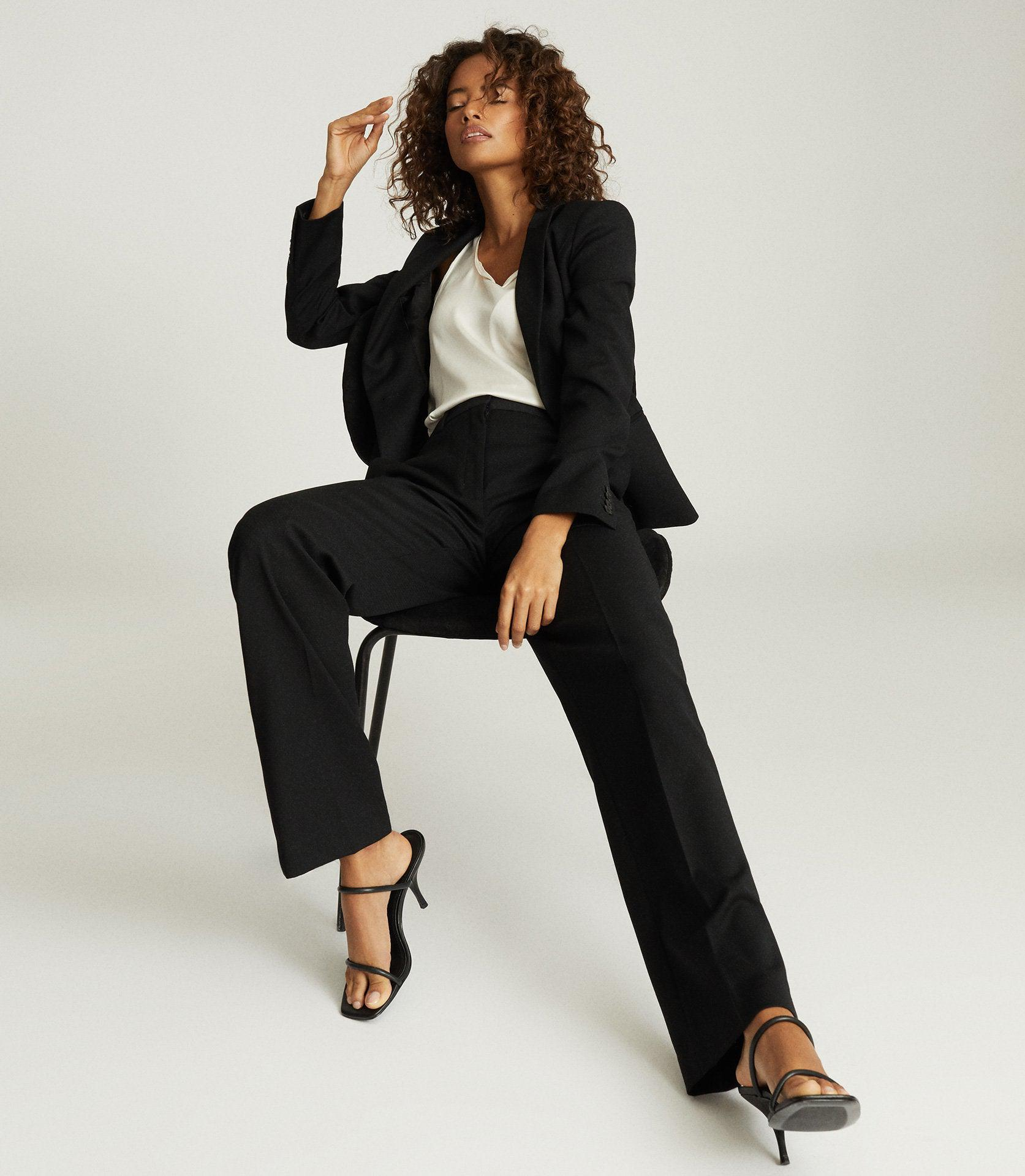 HAYES - WIDE LEG TAILORED PANTS