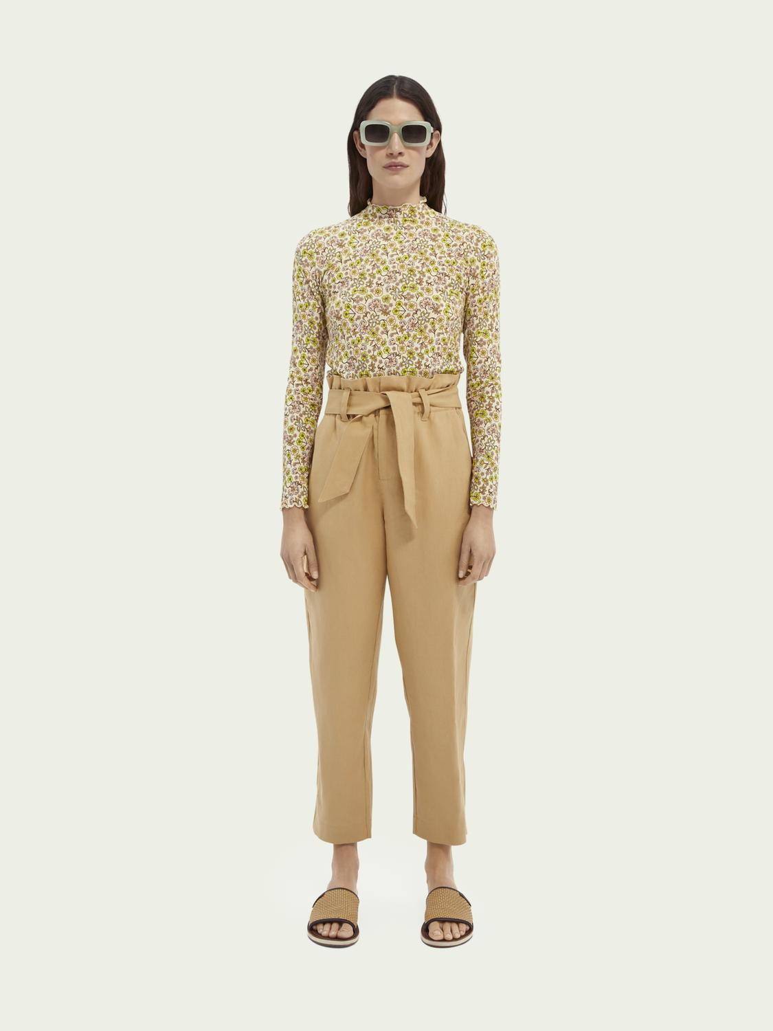 Paperbag trousers 1