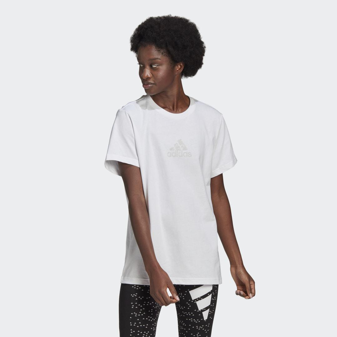 Badge of Sport Graphic Tee White