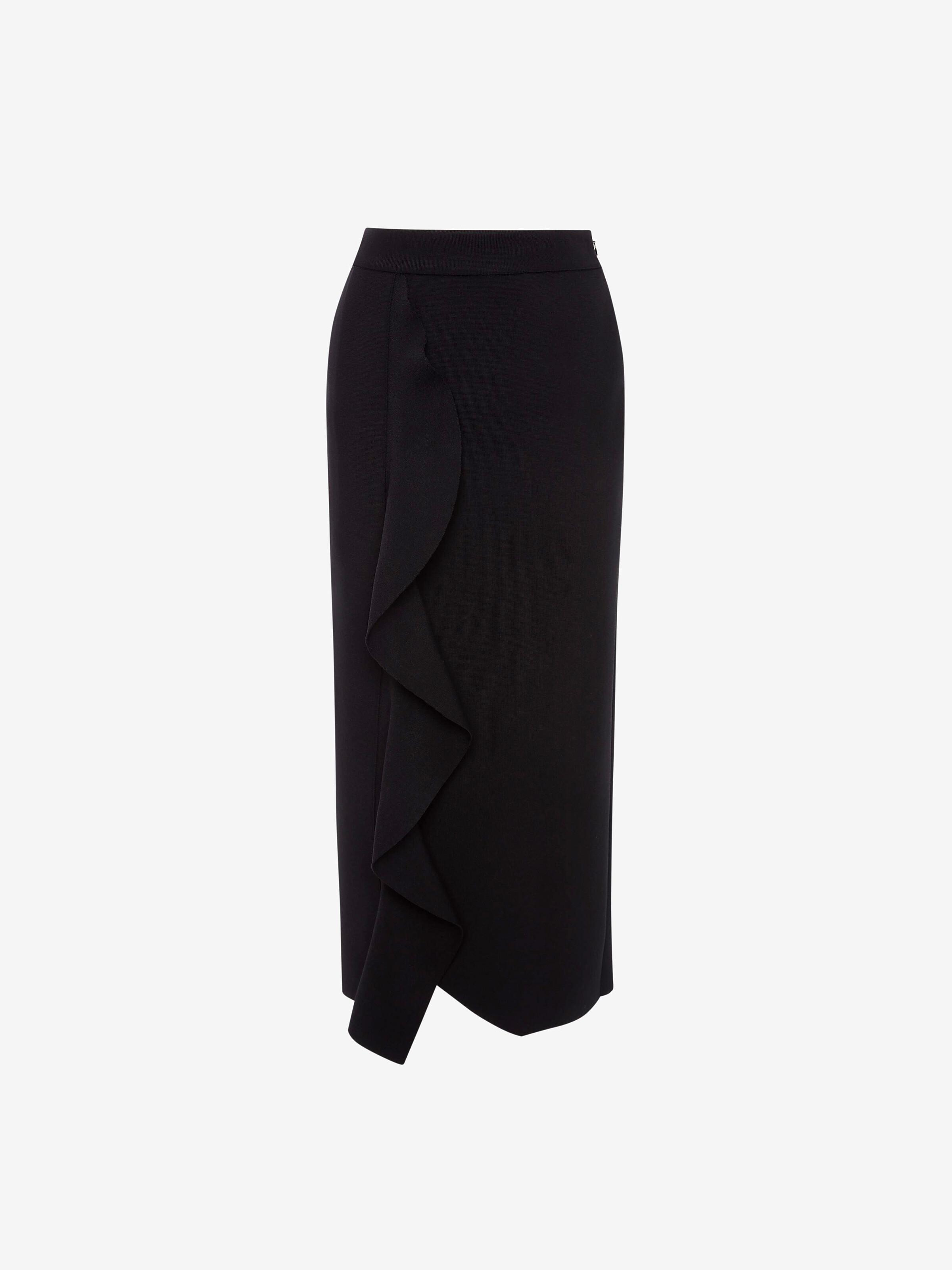Engineered Sculpted Knit Pencil Skirt 3