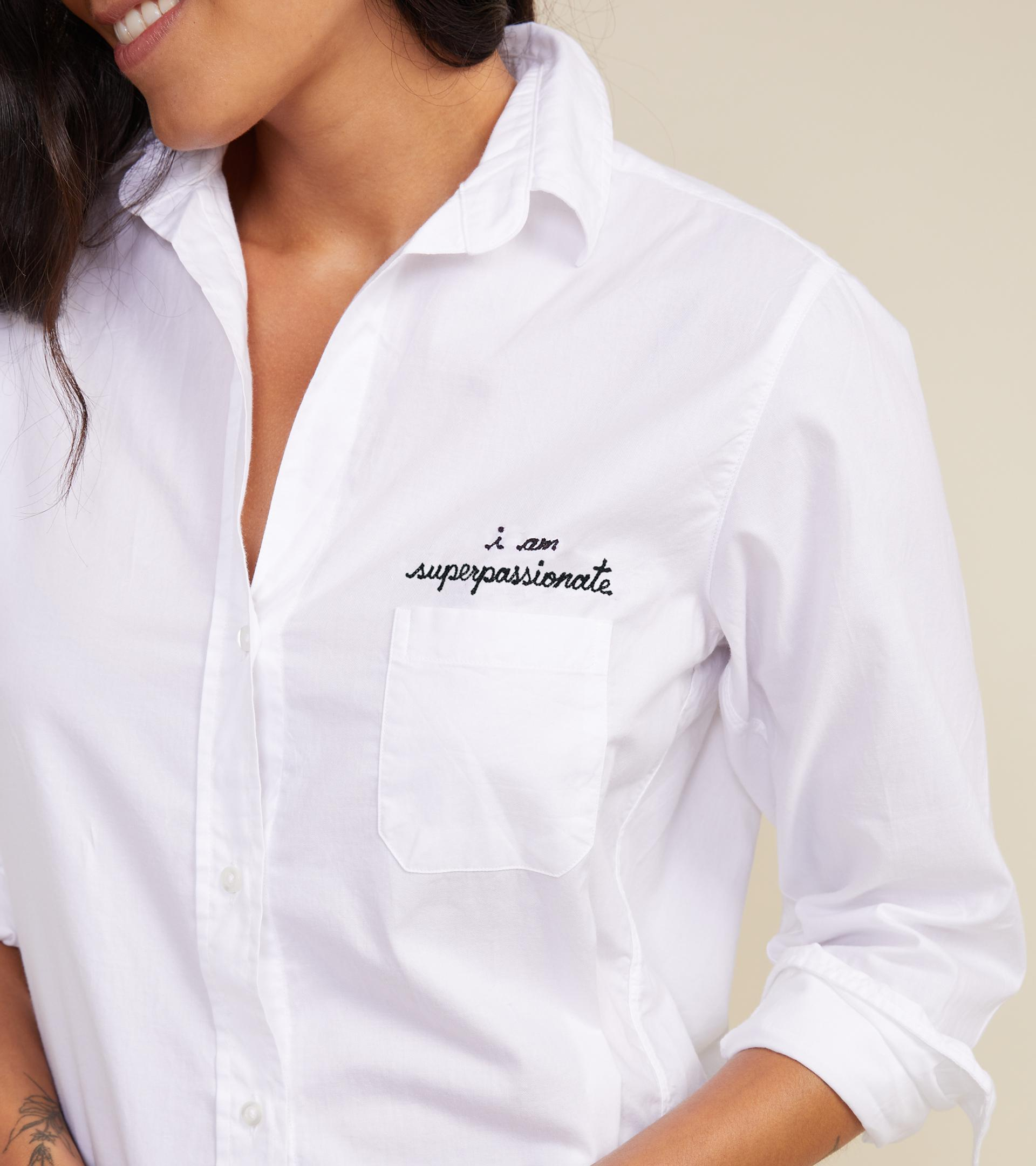 The Hero Button-Up Shirt Passionate, Brushed Cotton 2