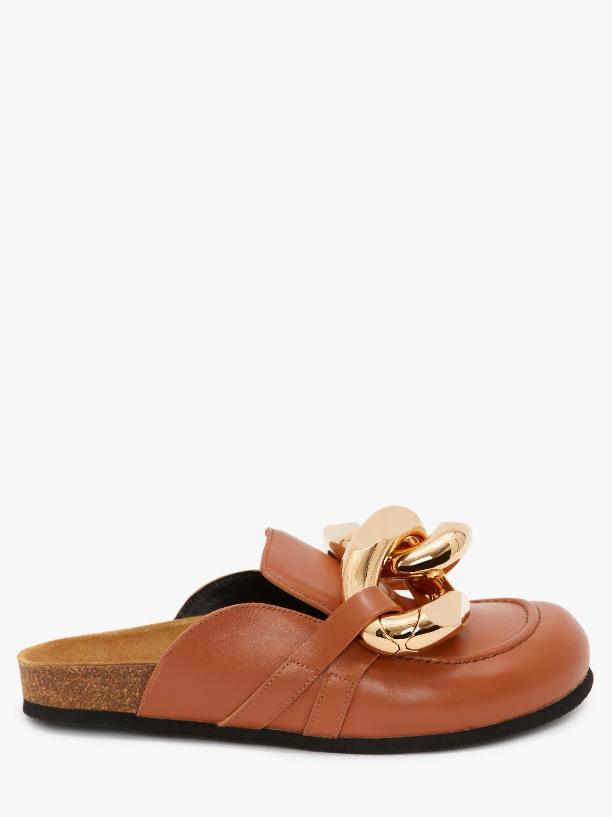 WOMEN'S CHAIN LOAFER MULES