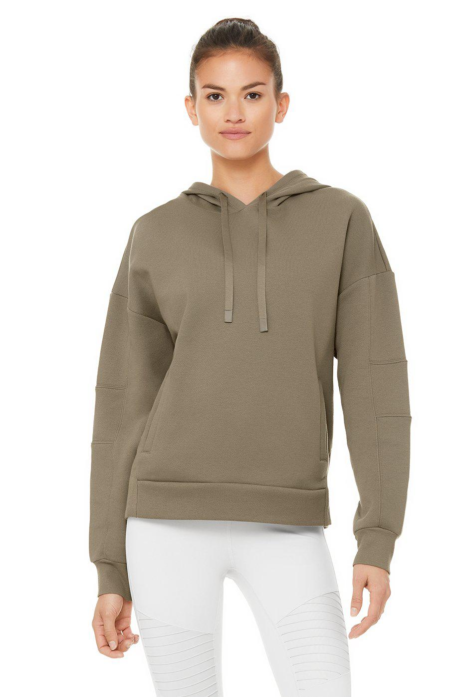 Interval Hoodie - Olive Branch