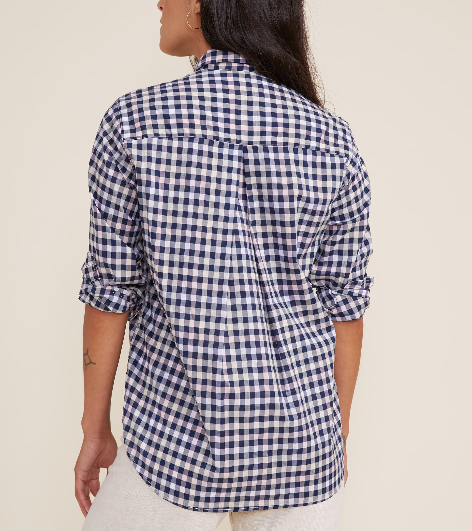The Hero Button-Up Shirt in Multi Check, Cool Cotton Sale 2