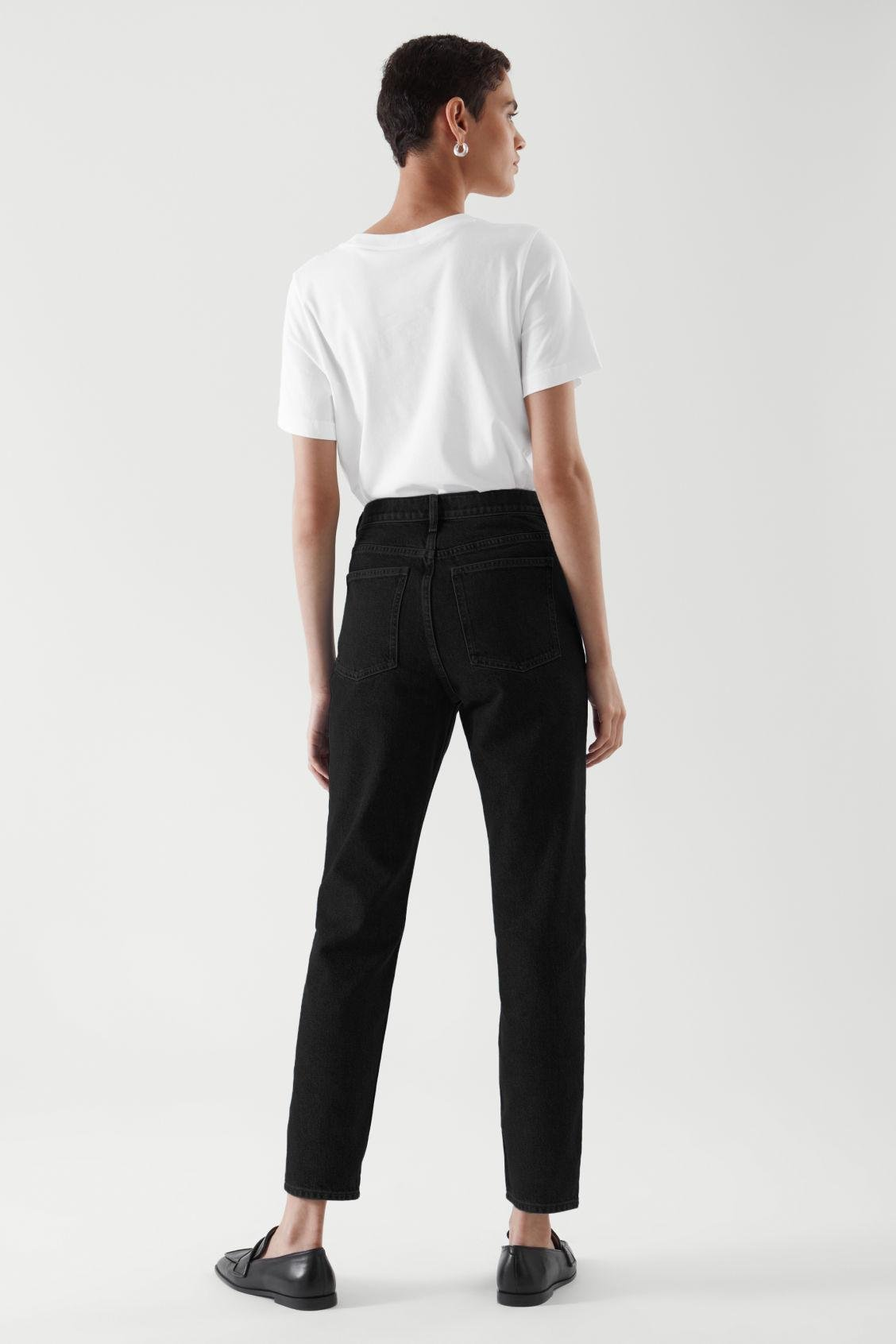 CROPPED STRAIGHT JEANS 5