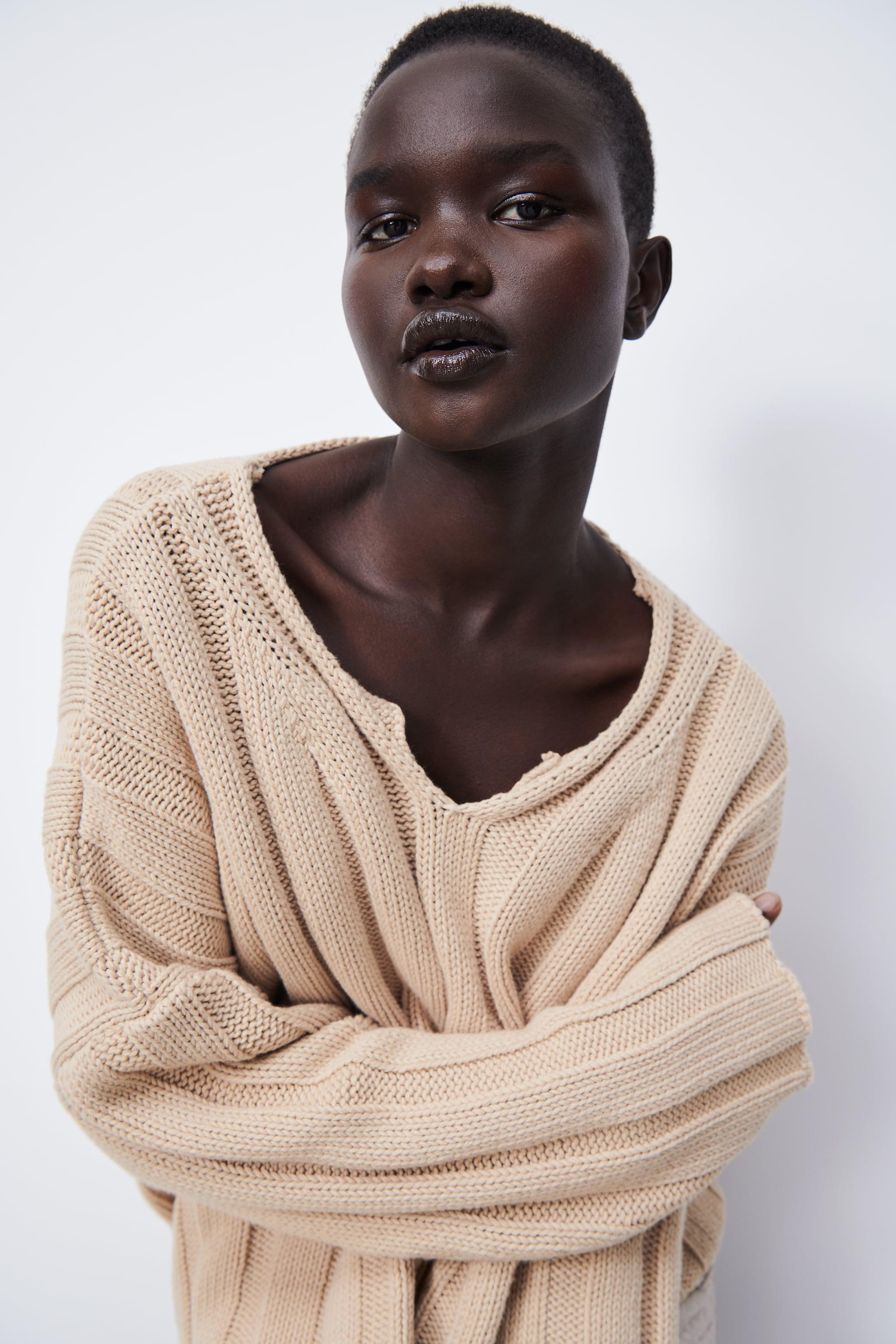 RIBBED KNIT SWEATER 2