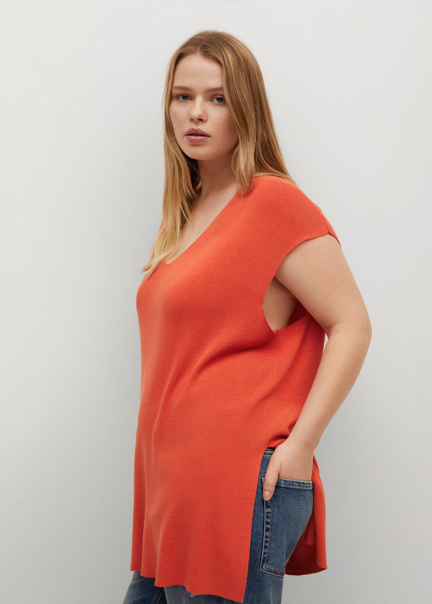 Oversized sweater with openings 5
