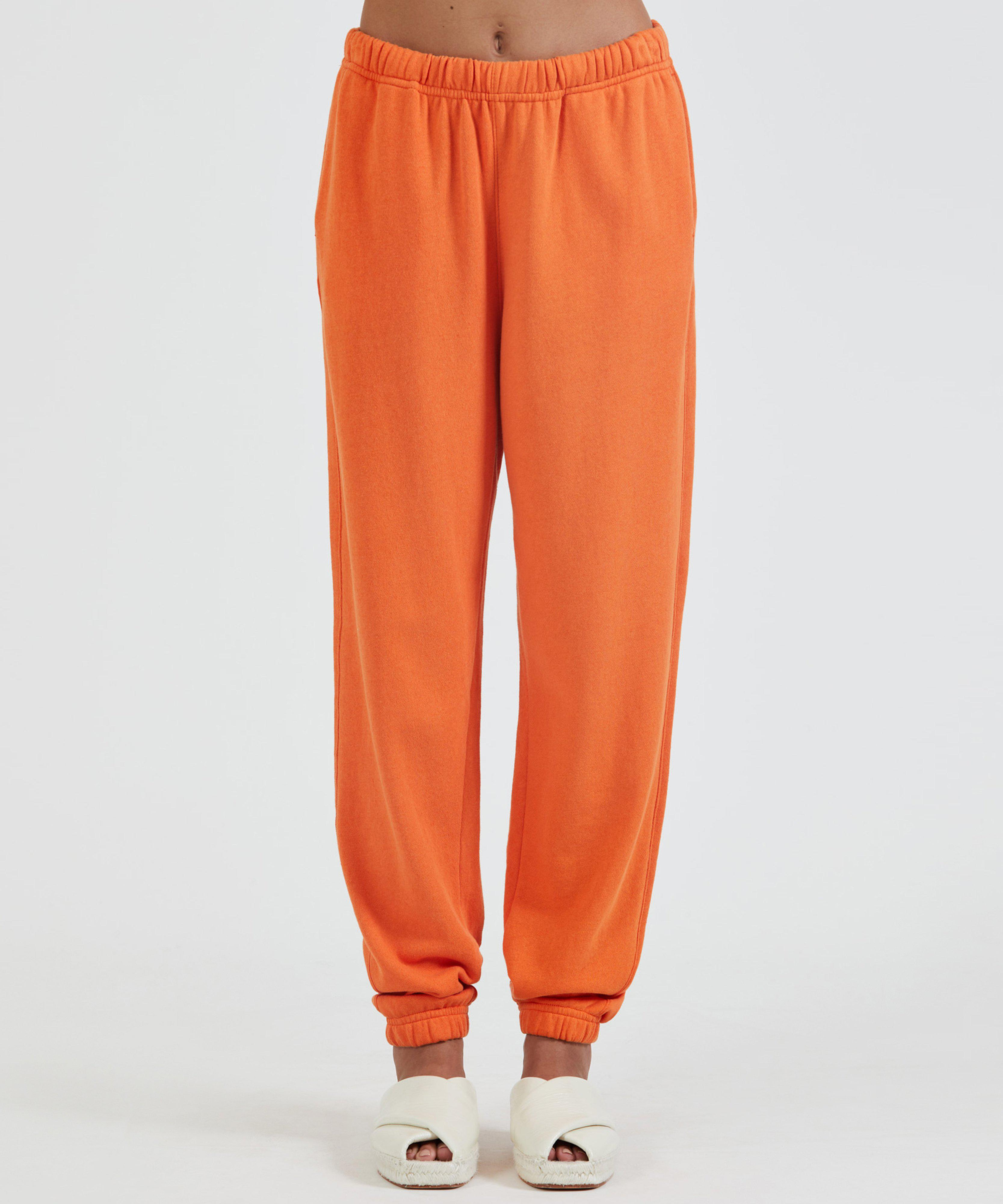 French Terry Pull-On Pant - Clementine