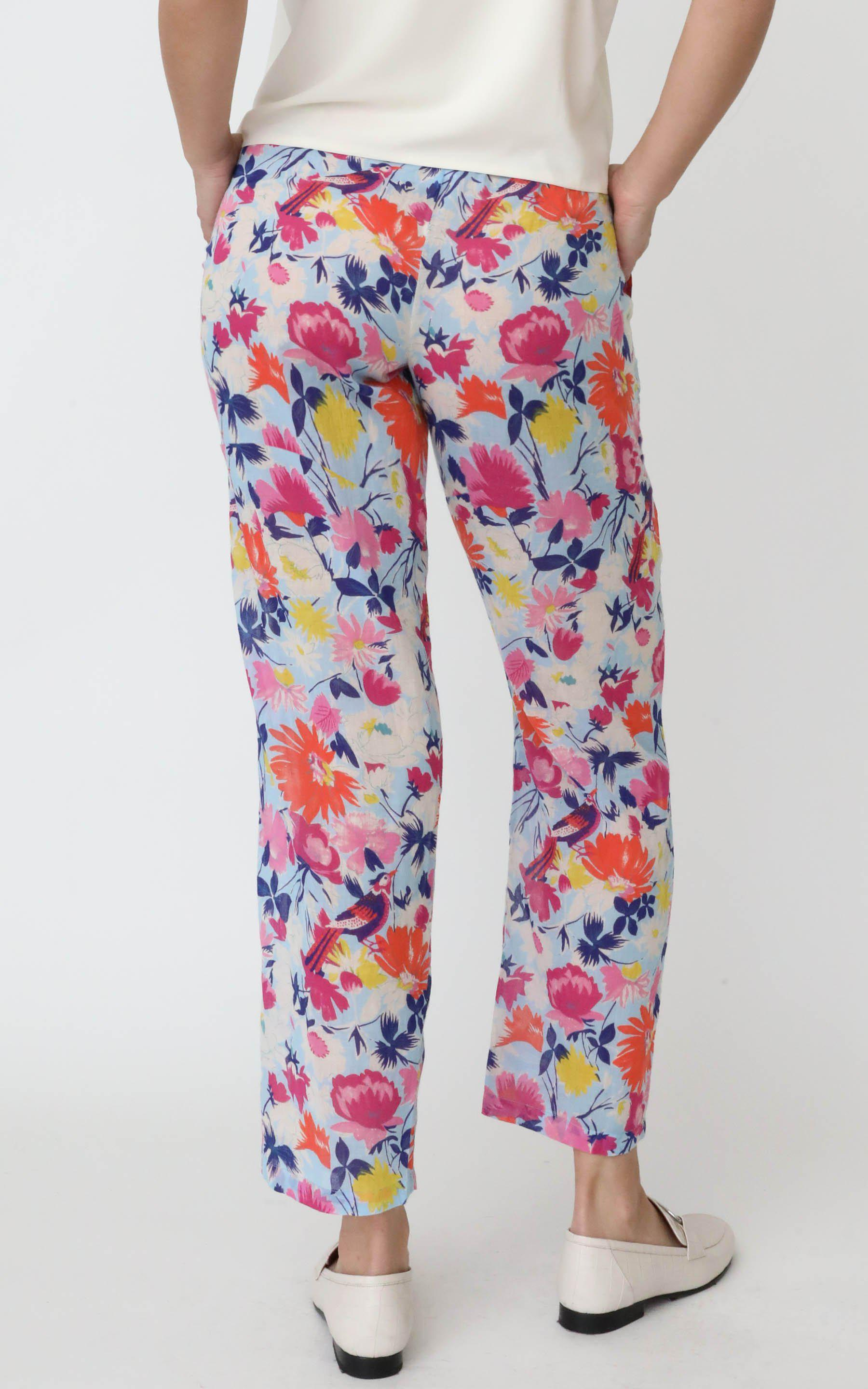 Orion Pull On Pant Fiesta Sky Blue 2