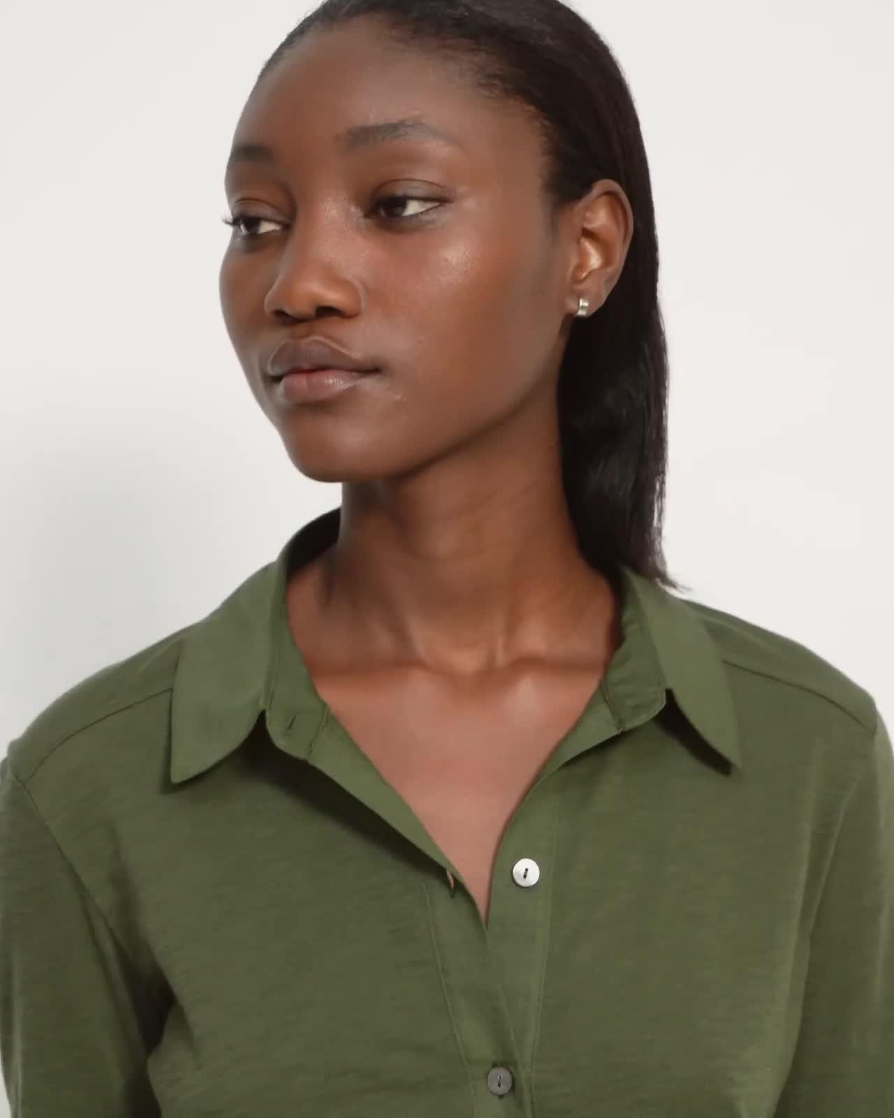 Button Up Shirt in Organic Cotton 4