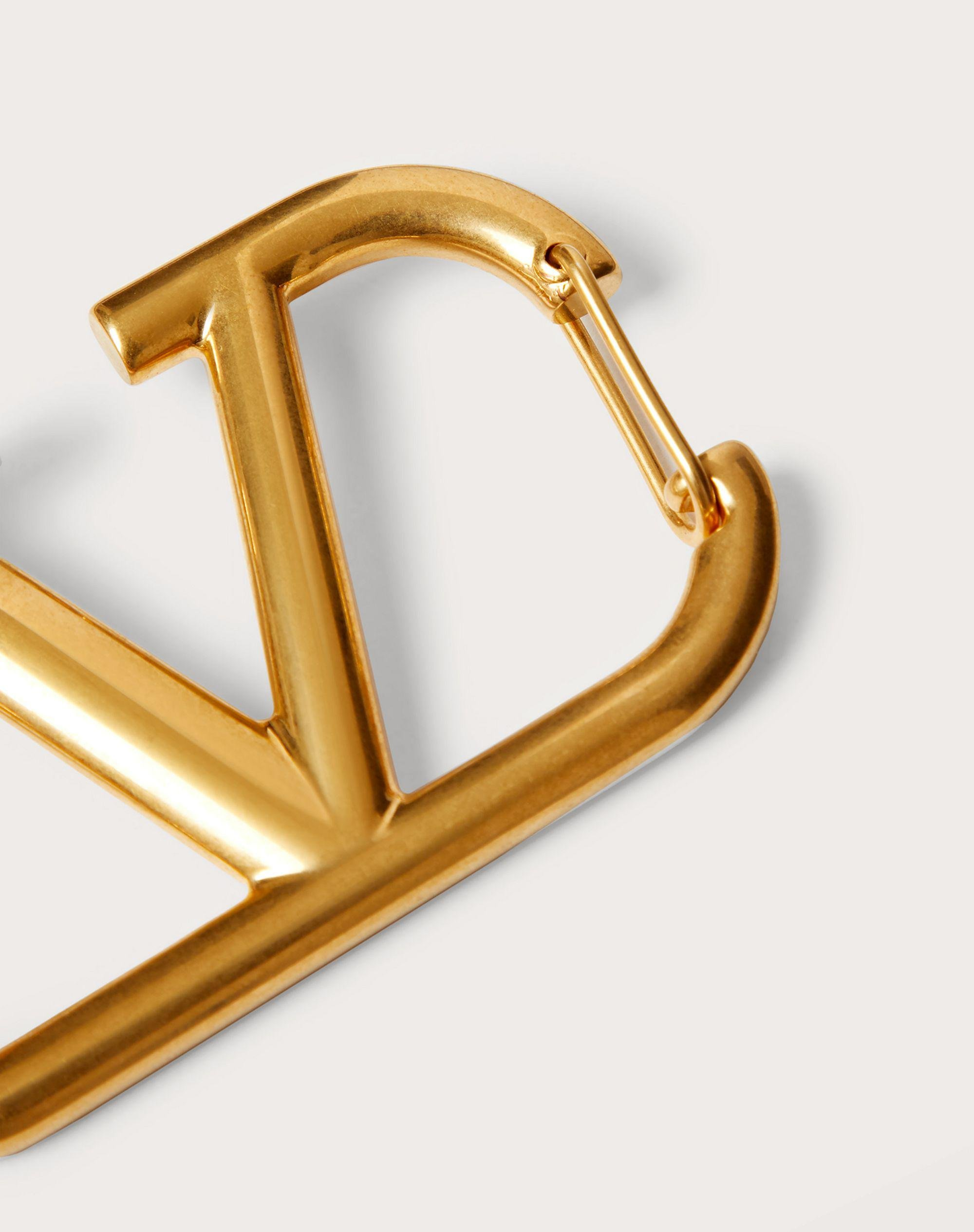 VLOGO SIGNATURE KEYCHAIN IN LACQUERED METAL 2