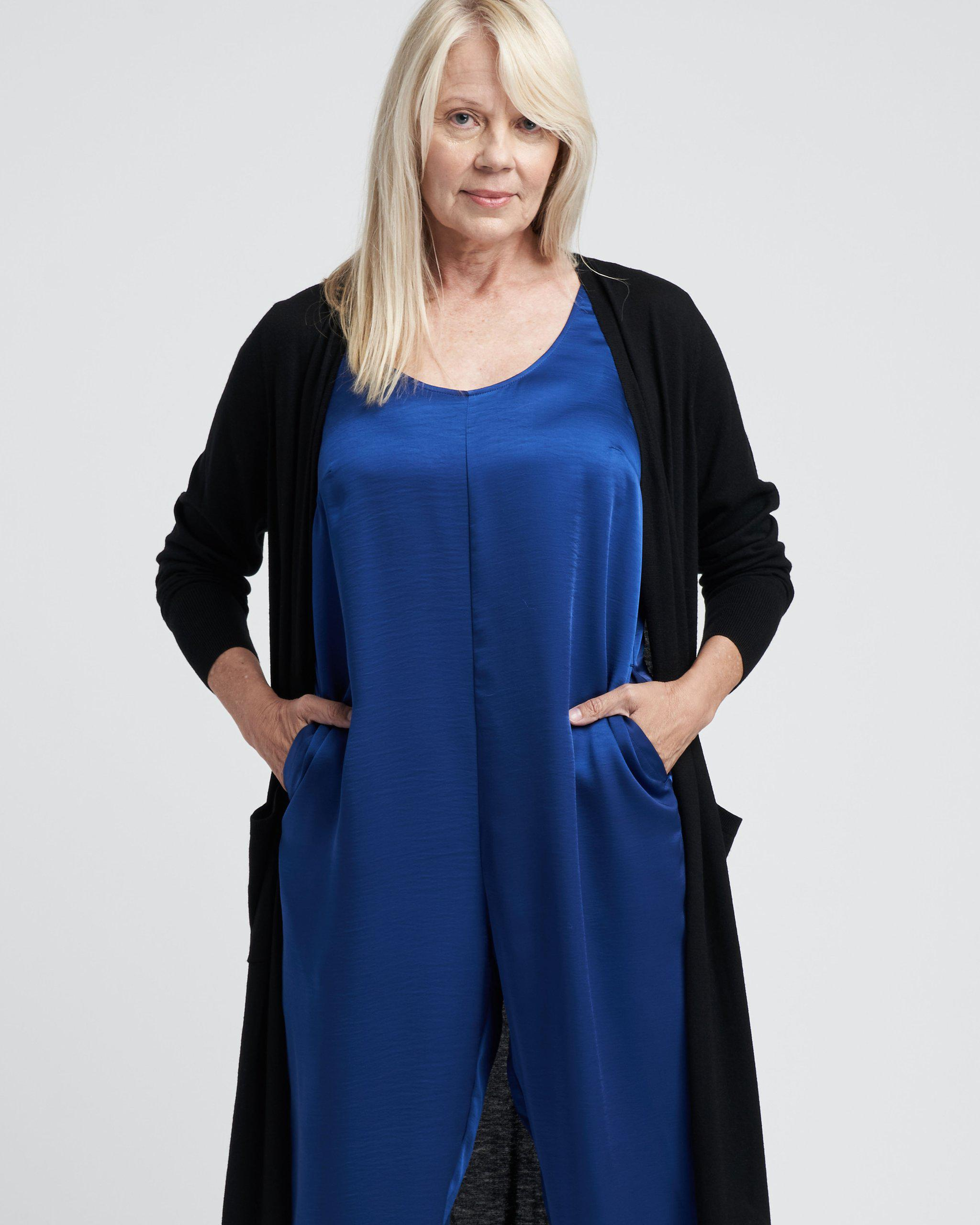 Judy Satin Relaxed Jumpsuit 8