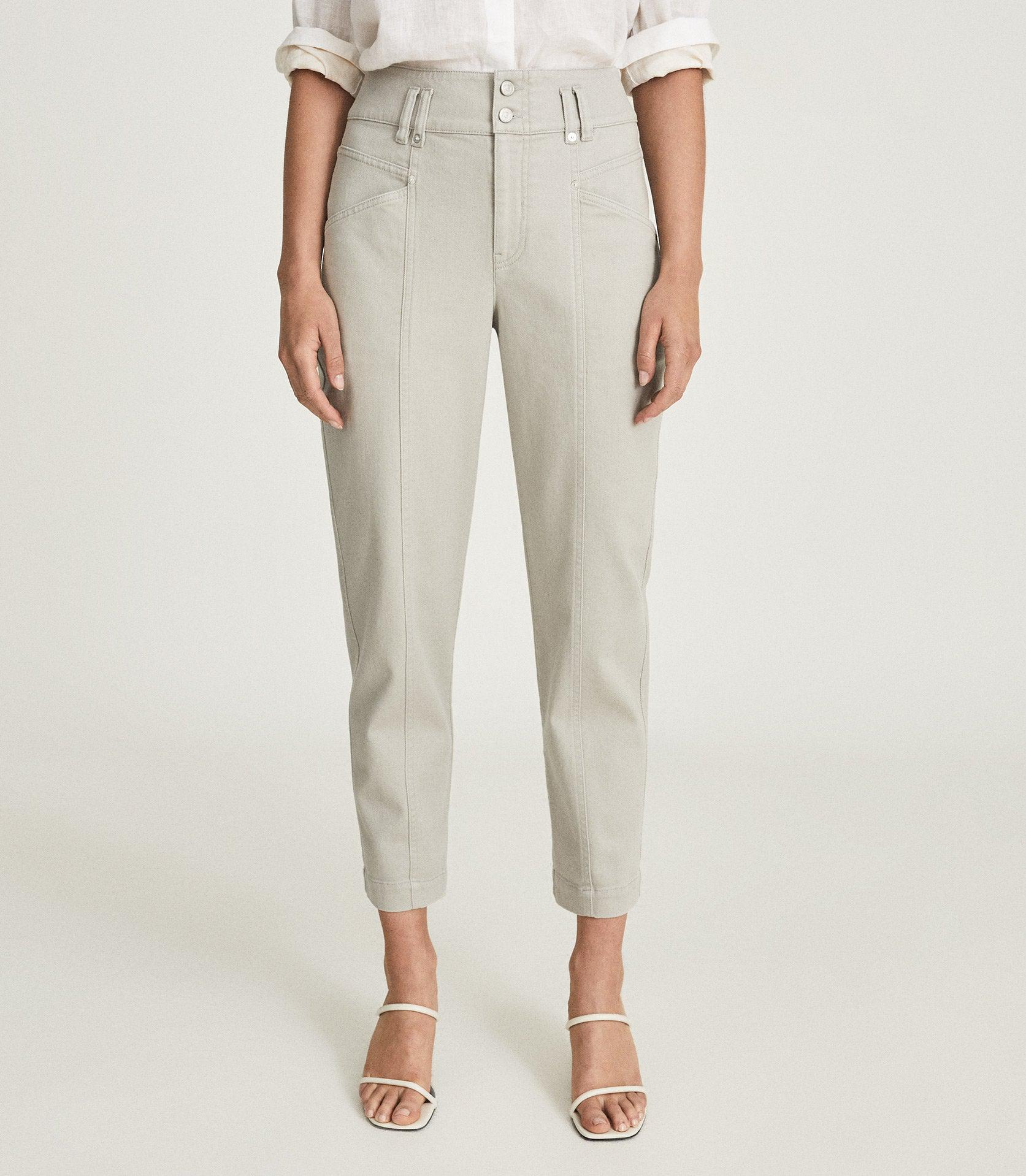 BAXTER - RELAXED TAPERED FIT TROUSERS 1