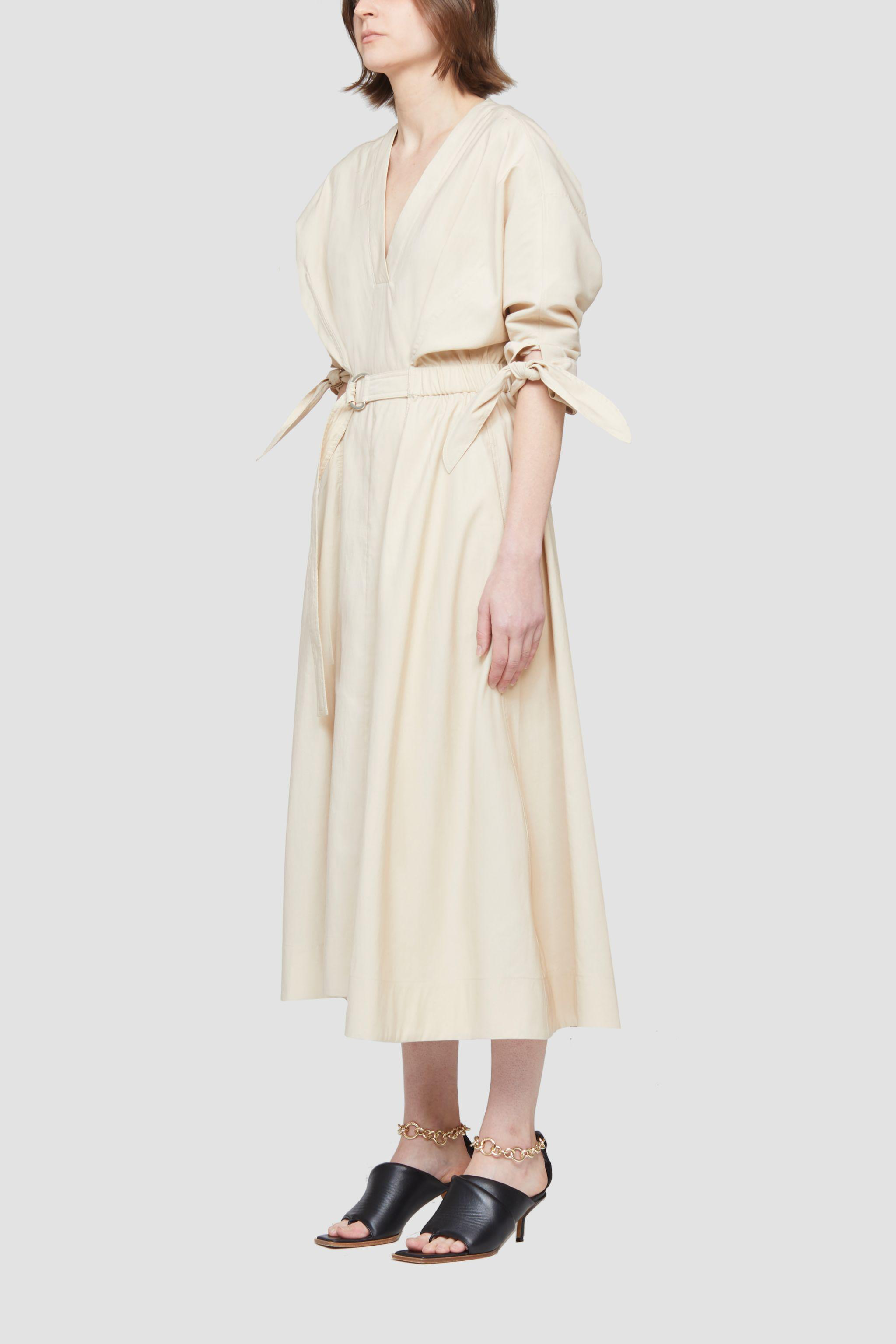 Belted Mid Length Dress 2