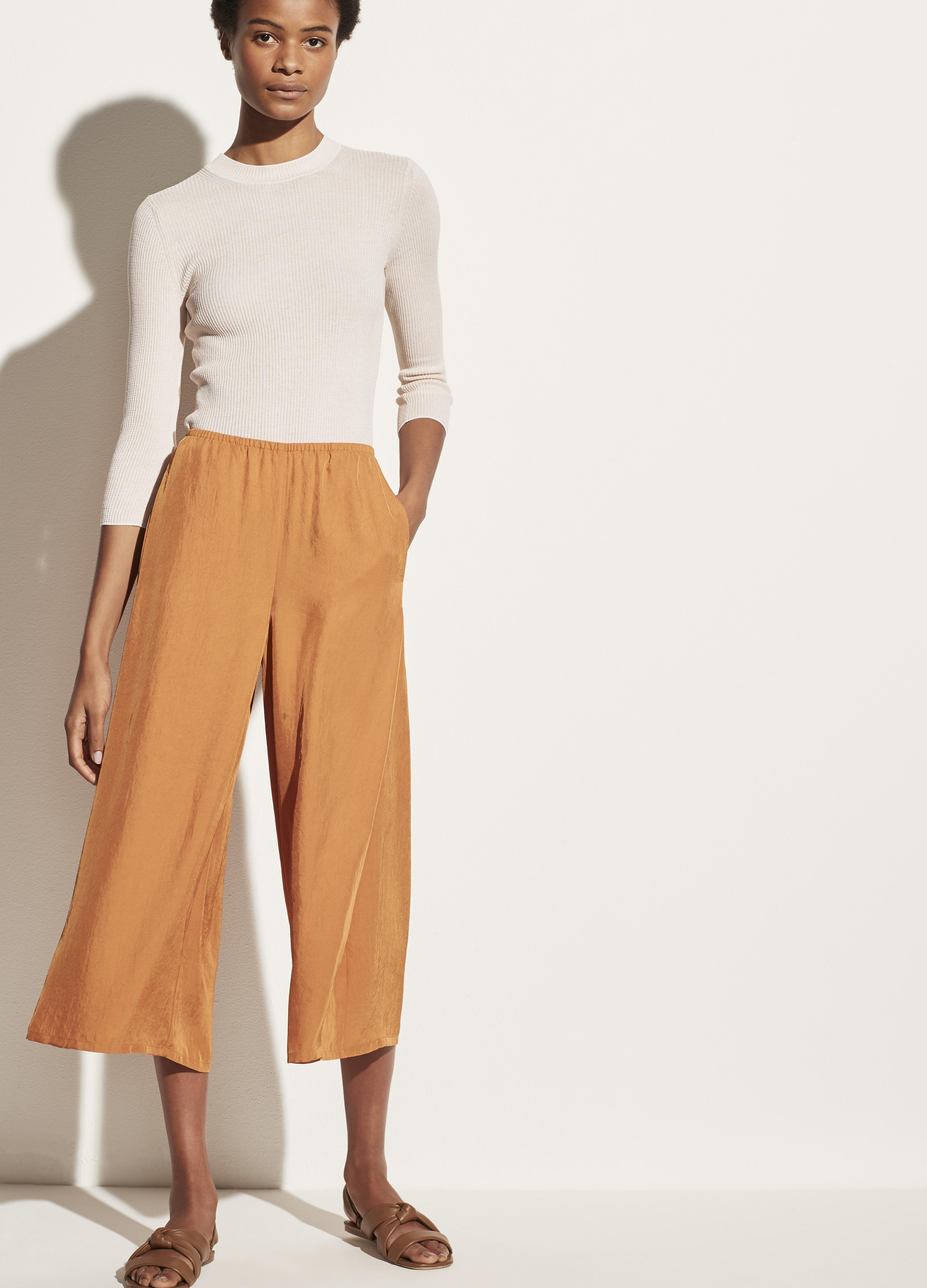 Drapey Pull On Culotte