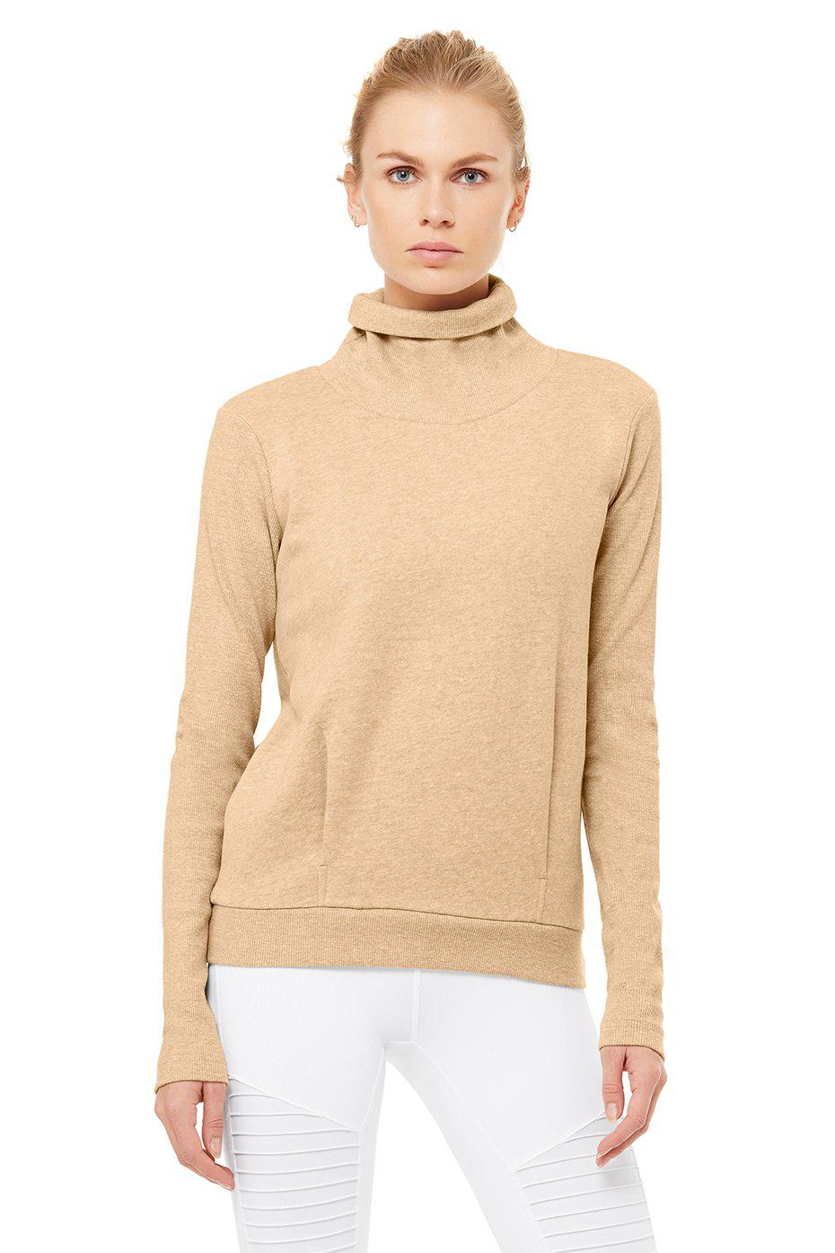 Clarity Long Sleeve - Putty Heather