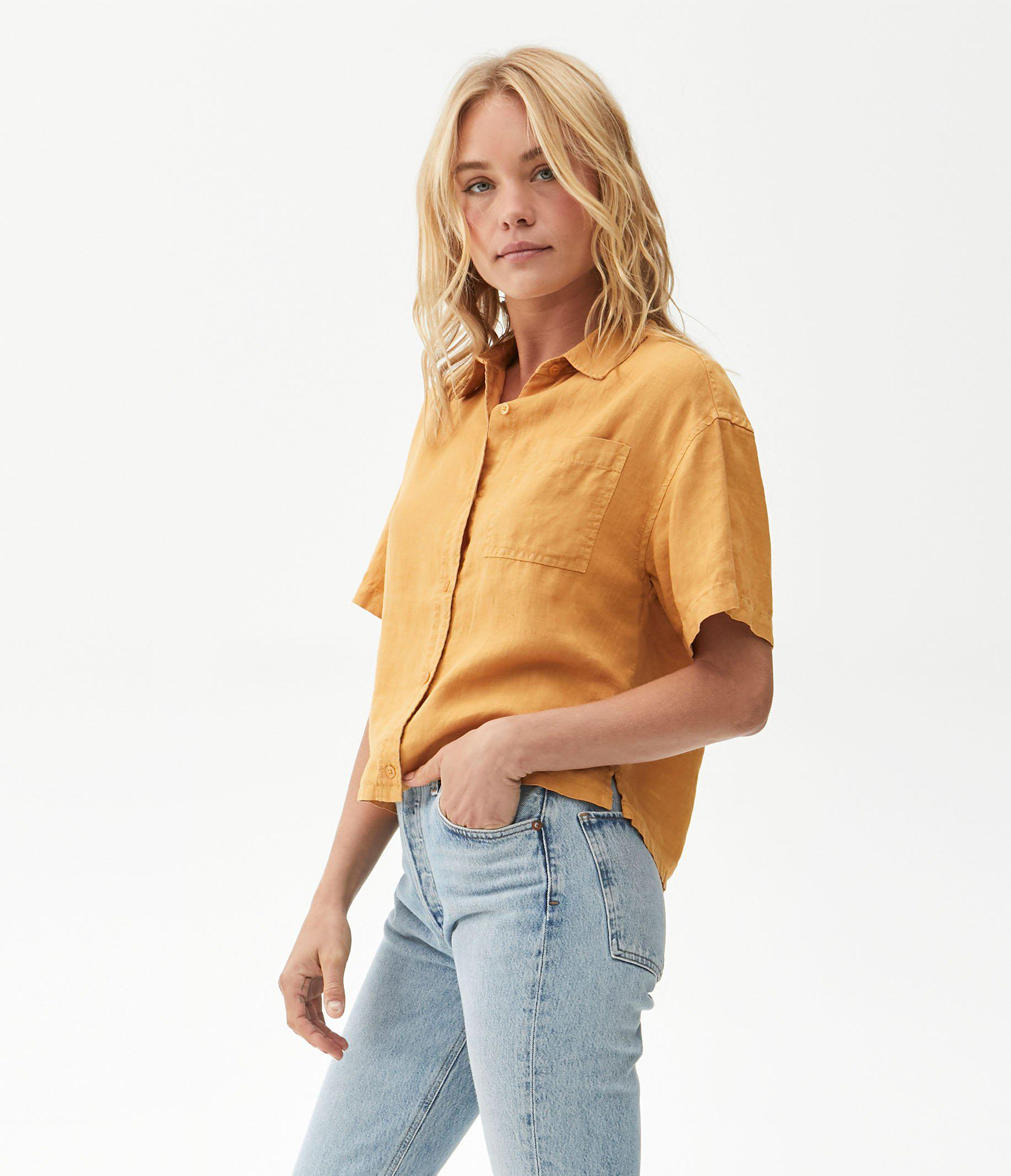 Penny Button Up Top 2