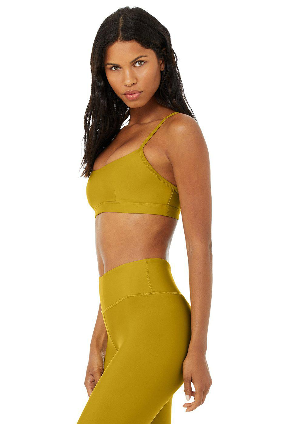 Airlift Intrigue Bra - Chartreuse 1