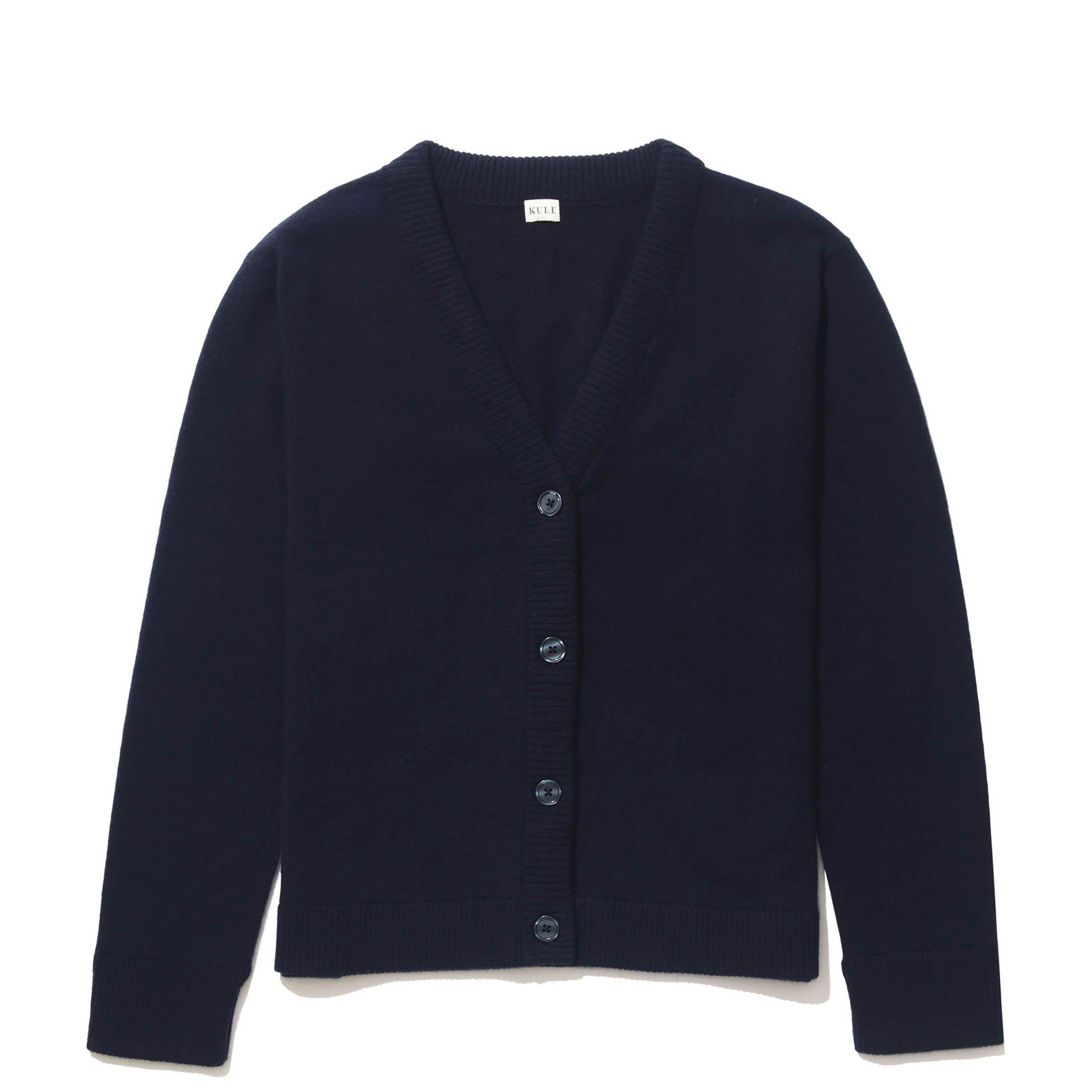 The Cashmere Cardi - Navy