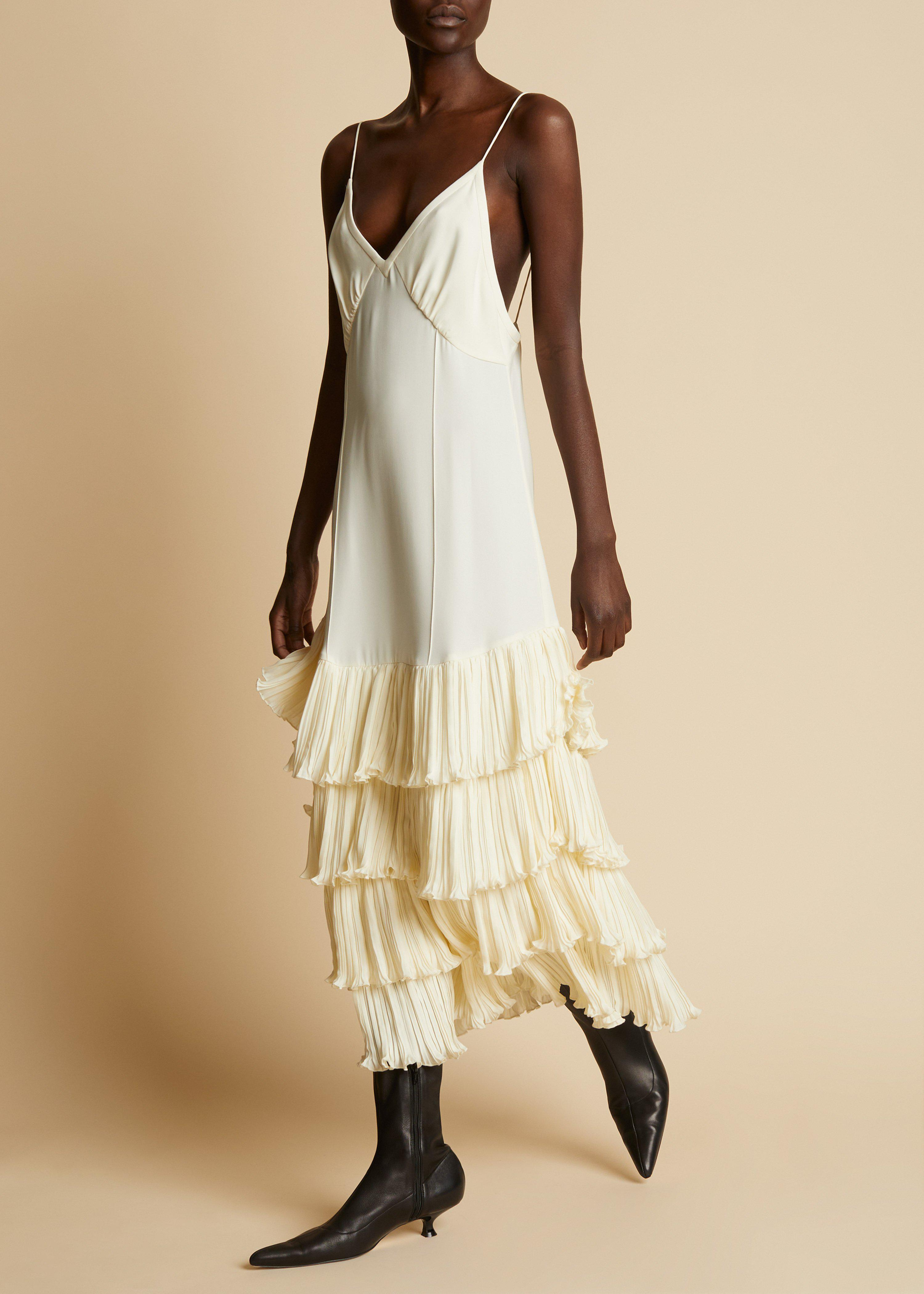 The Myrtle Dress in Ivory