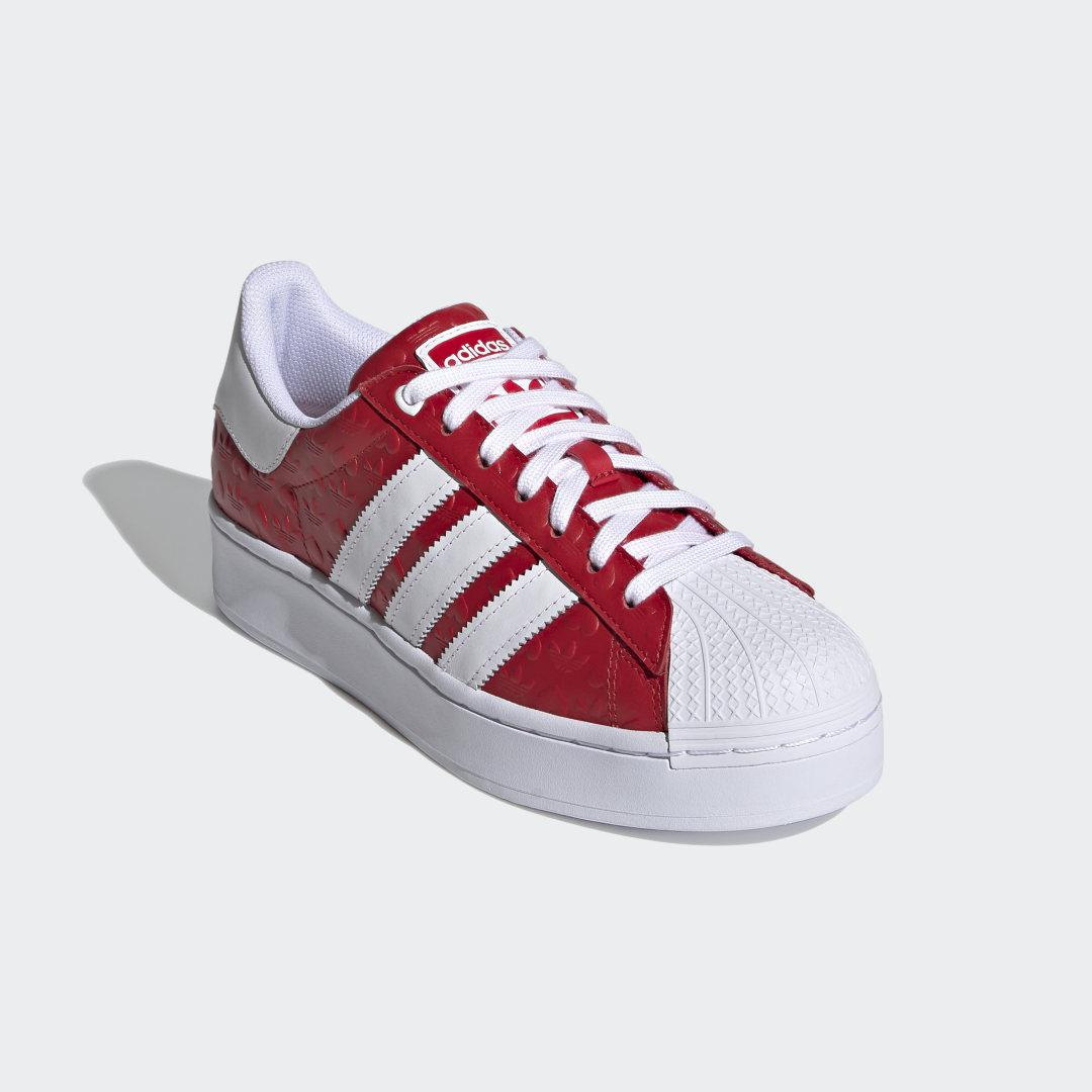 Superstar Bold Shoes Red
