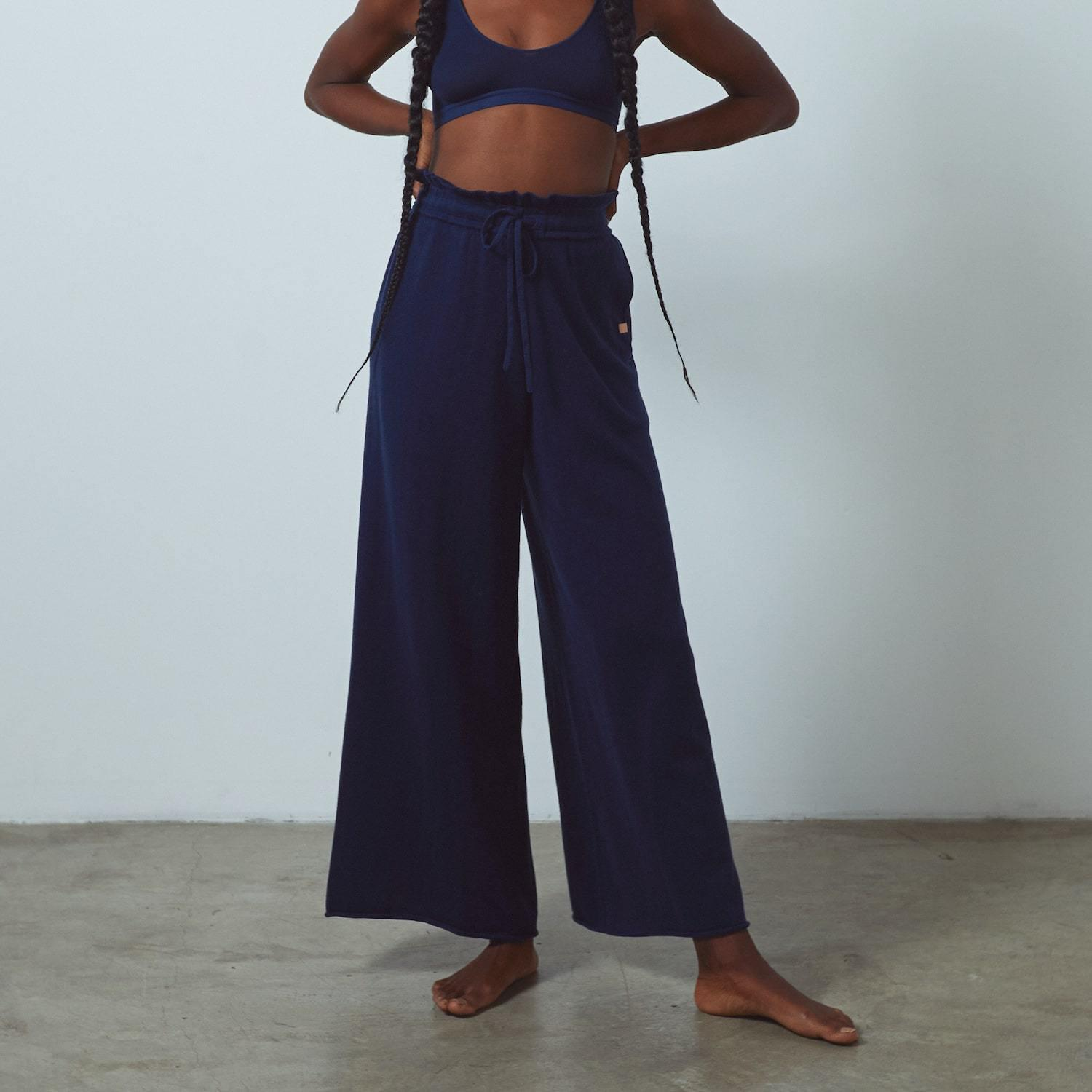 Cozy Cotton Silk Relaxed Pant 1