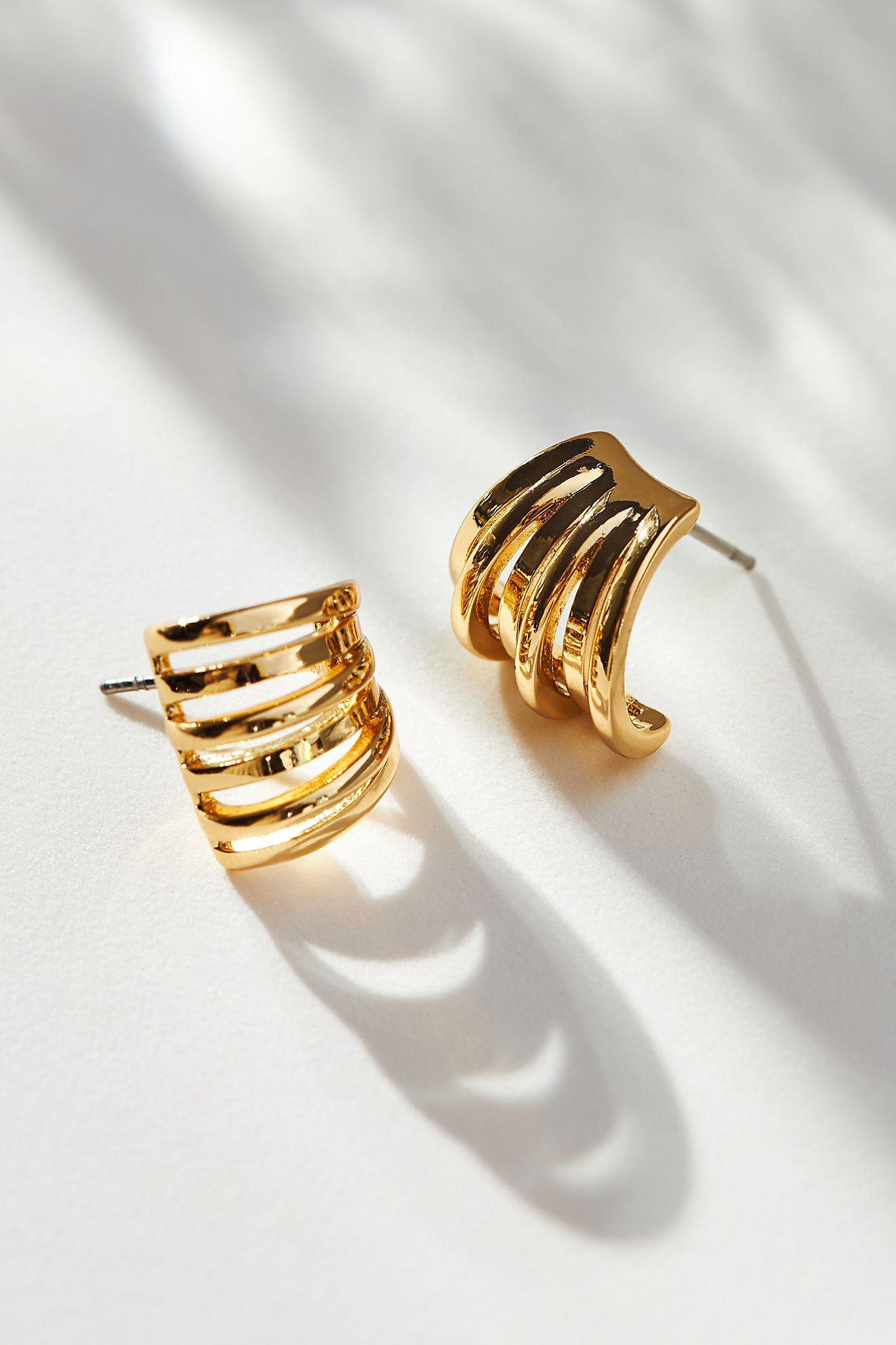 Structural Post Earrings