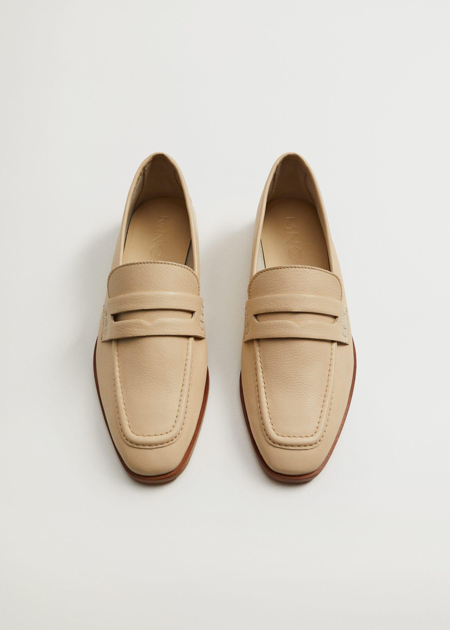 Leather penny loafers 4